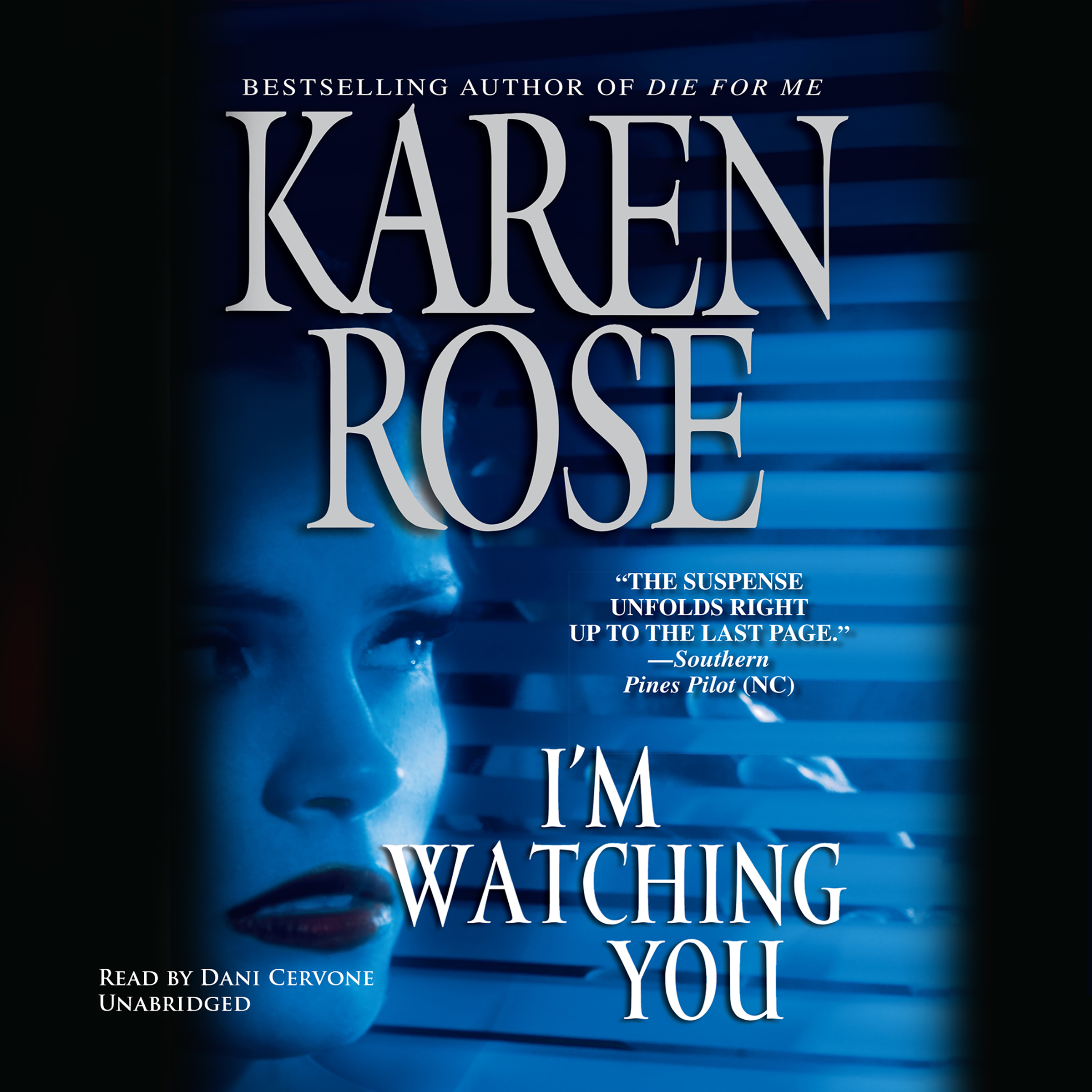 Printable I'm Watching You Audiobook Cover Art