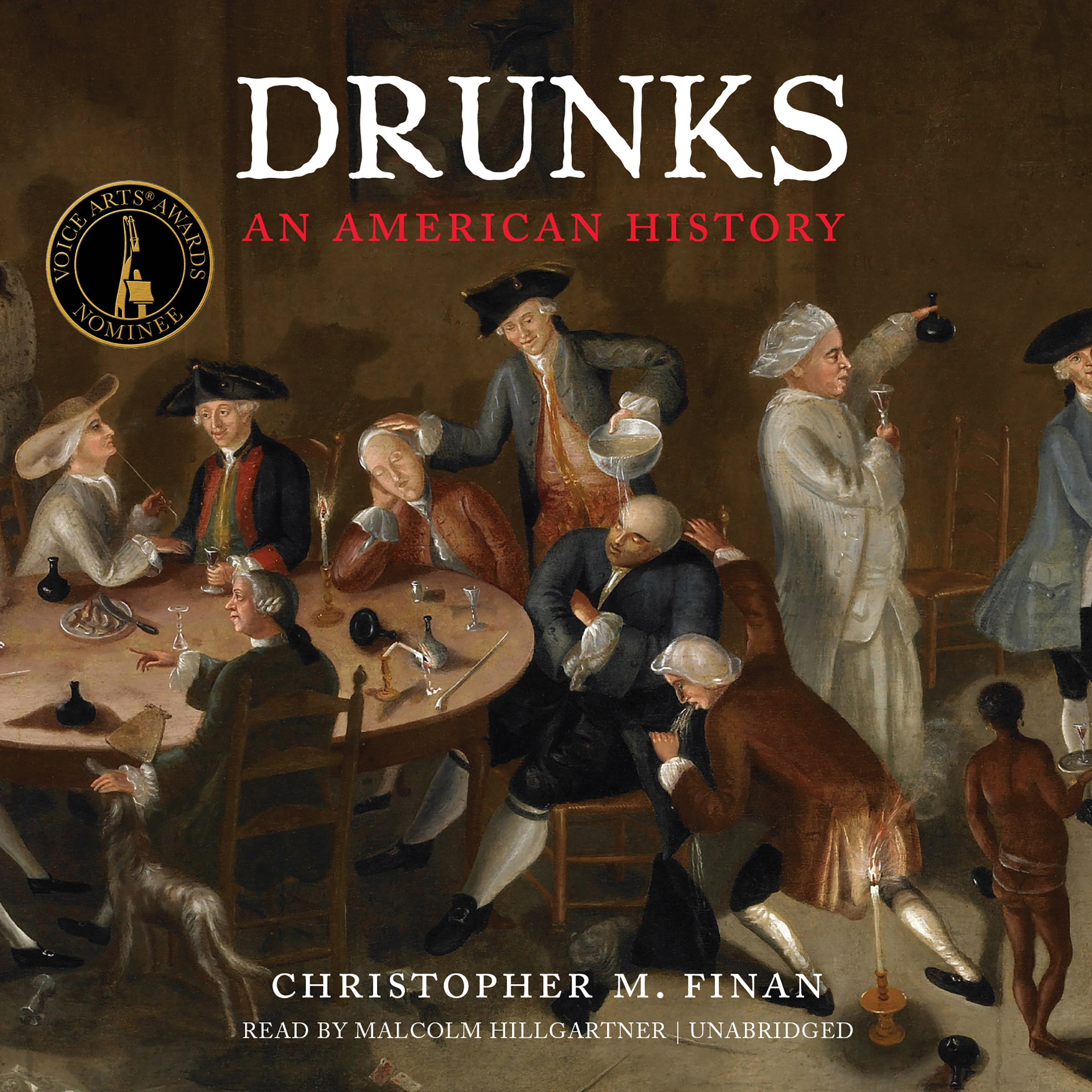 Printable Drunks: An American History Audiobook Cover Art