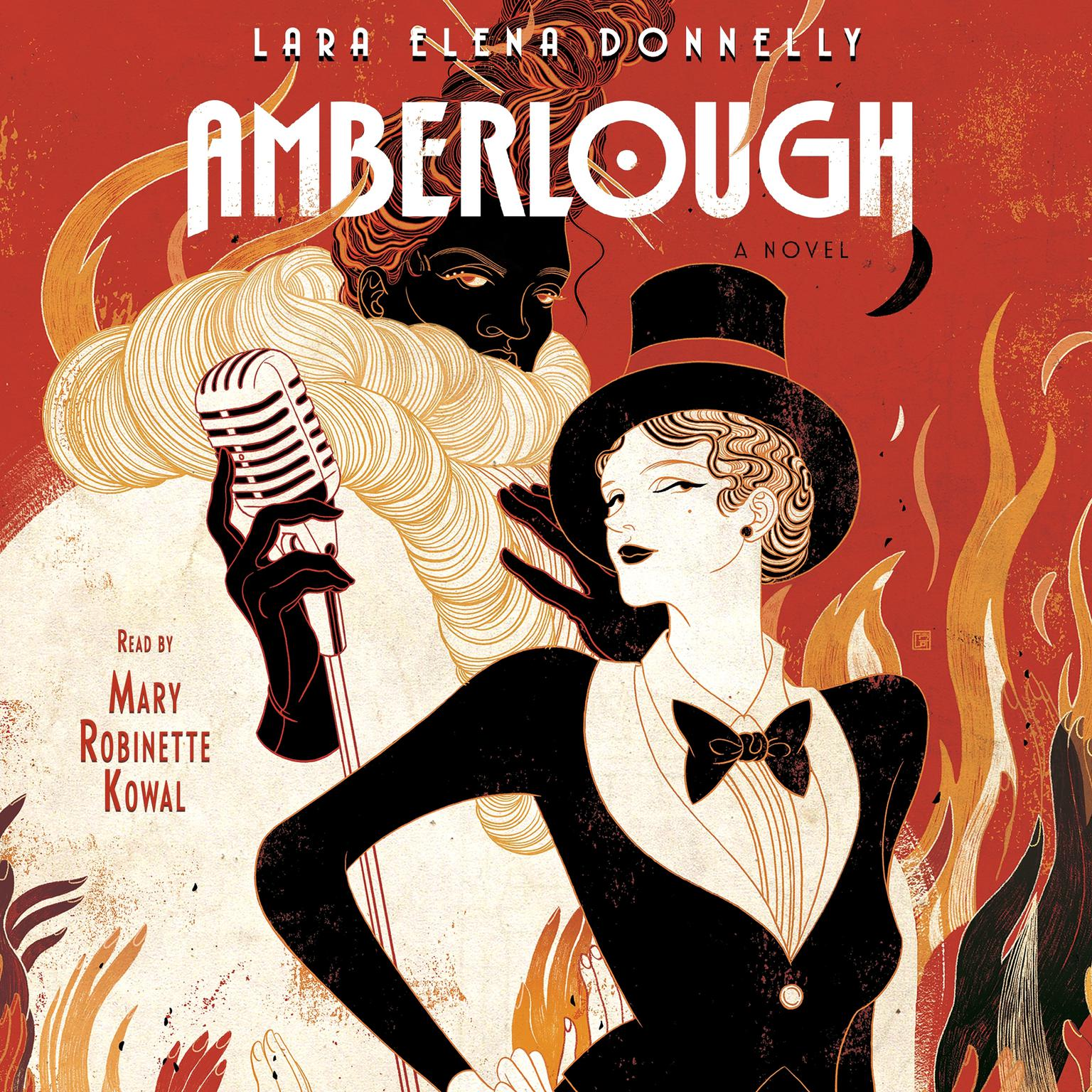 Printable Amberlough: Book 1 in the Amberlough Dossier Audiobook Cover Art