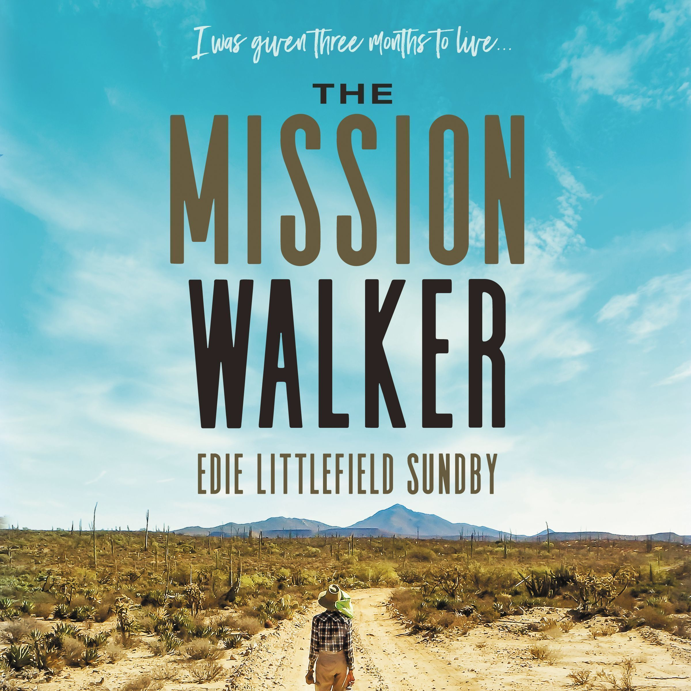 Printable The Mission Walker Audiobook Cover Art