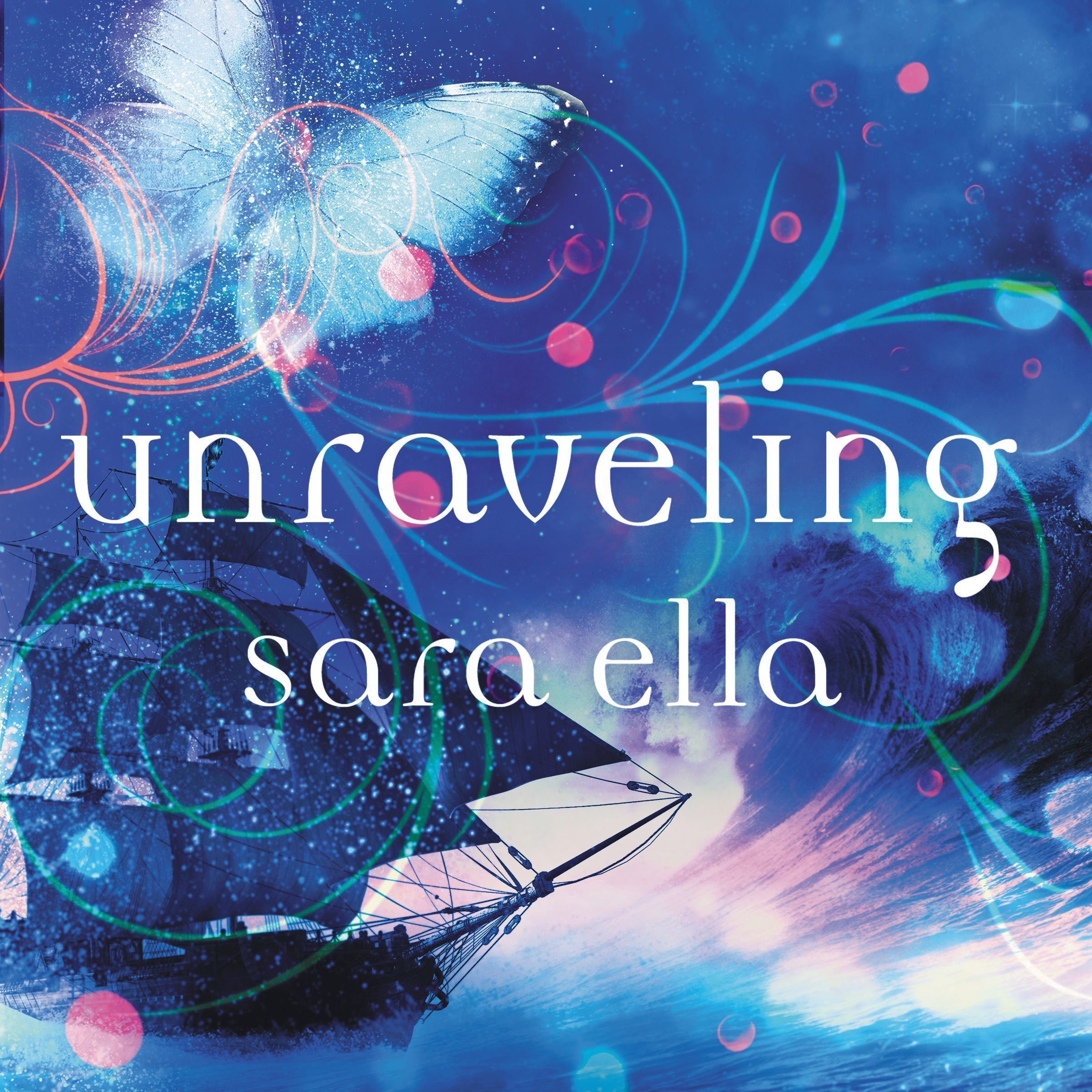 Printable Unraveling Audiobook Cover Art