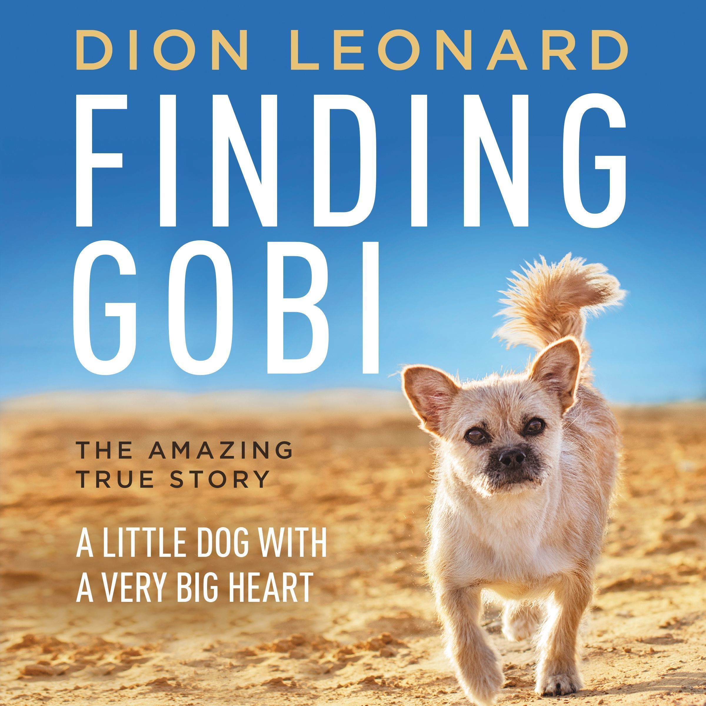 Printable Finding Gobi: A Little Dog with a Very Big Heart Audiobook Cover Art