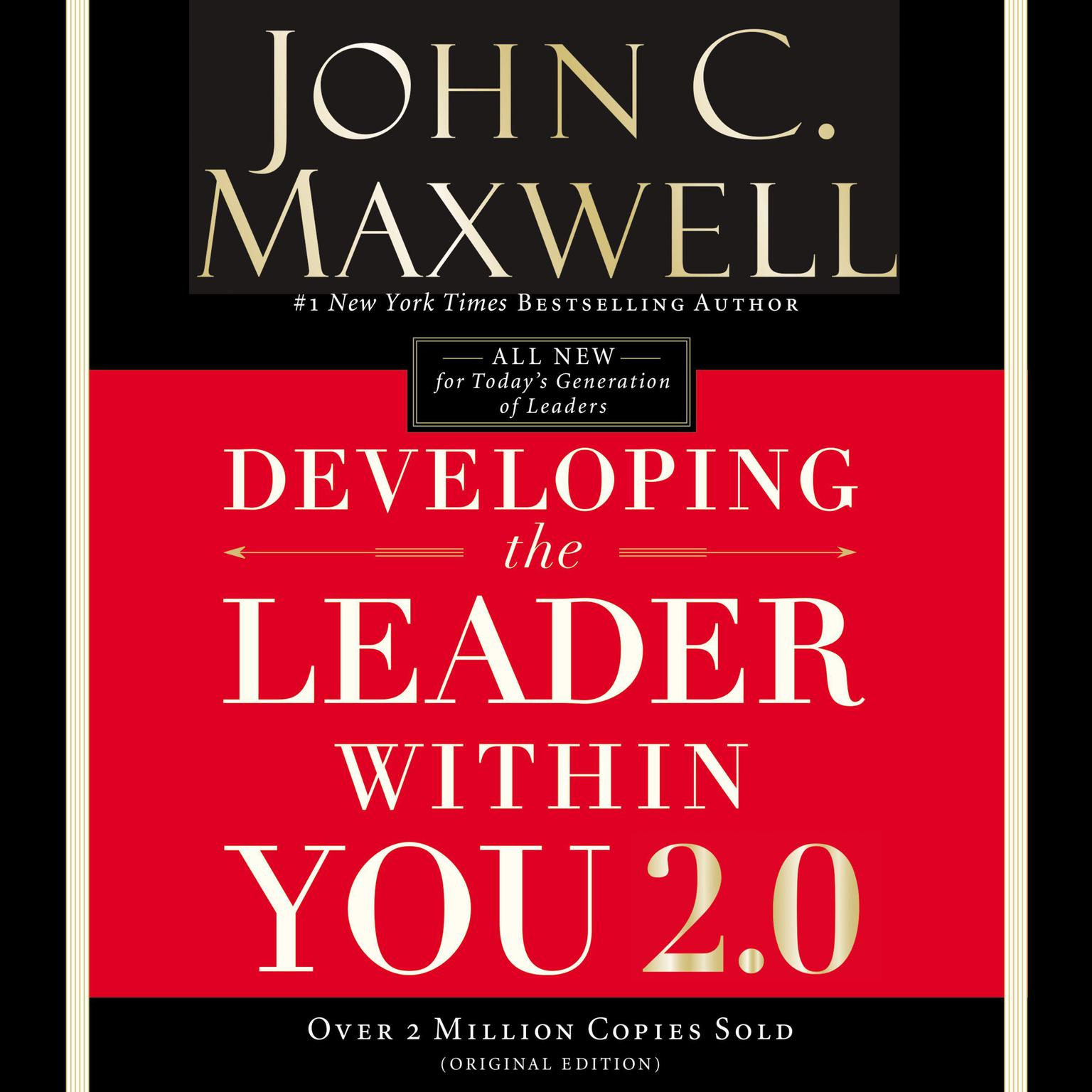 Printable Developing the Leader Within You 2.0 Audiobook Cover Art