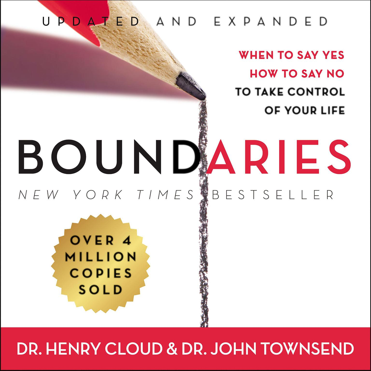 Printable Boundaries Updated and Expanded Edition: When to Say Yes, How to Say No To Take Control of Your Life Audiobook Cover Art