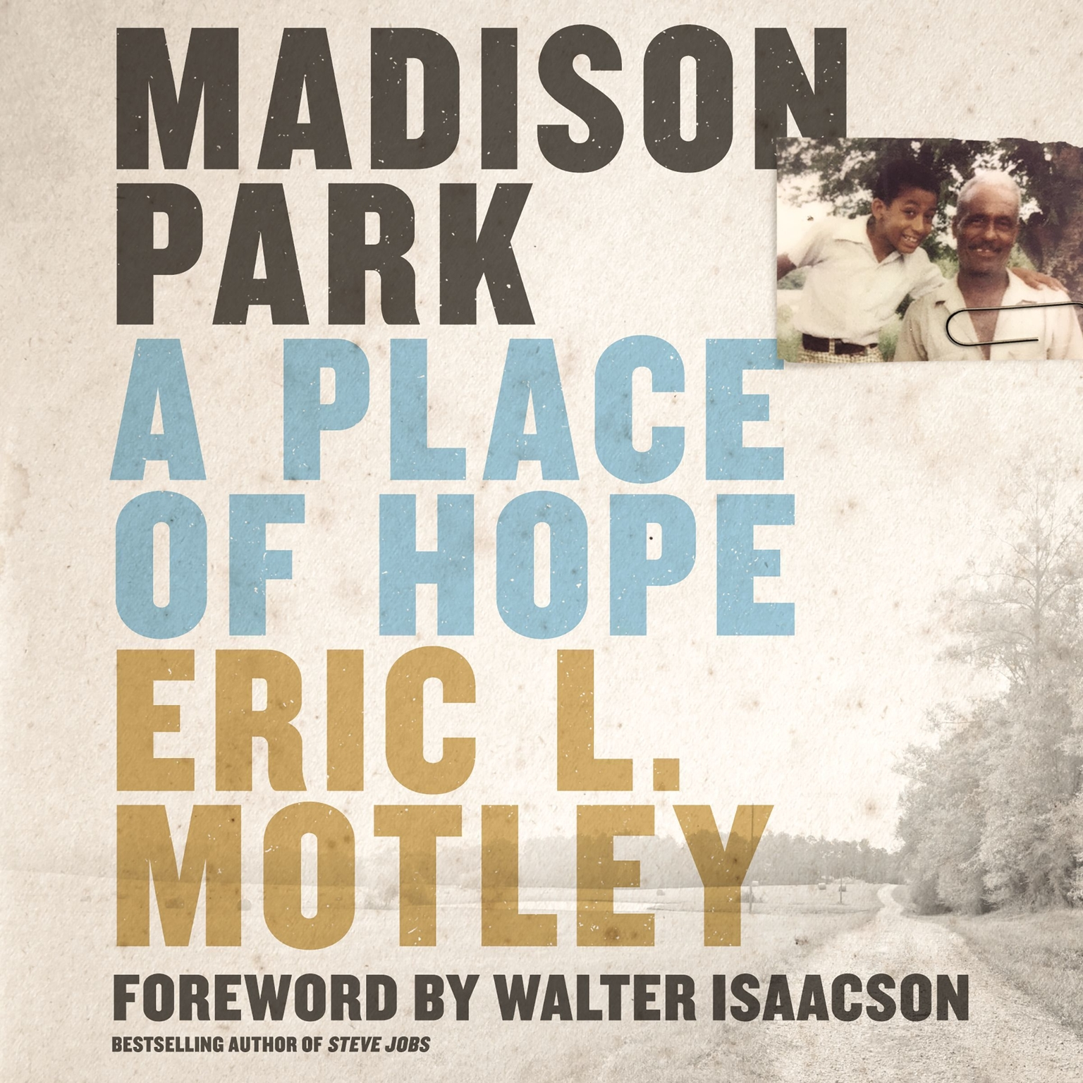 Printable Madison Park: A Place of Hope Audiobook Cover Art