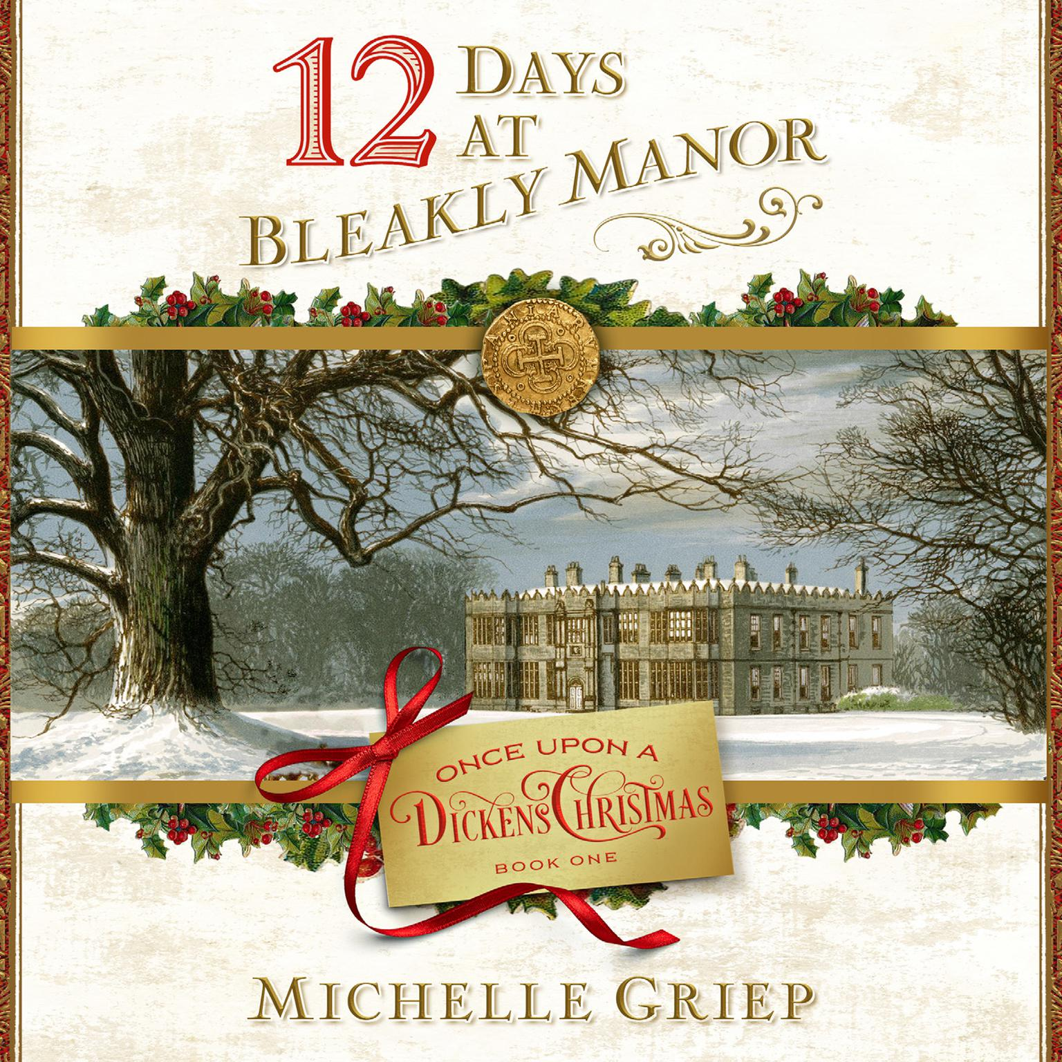 Printable 12 Days at Bleakly Manor Audiobook Cover Art