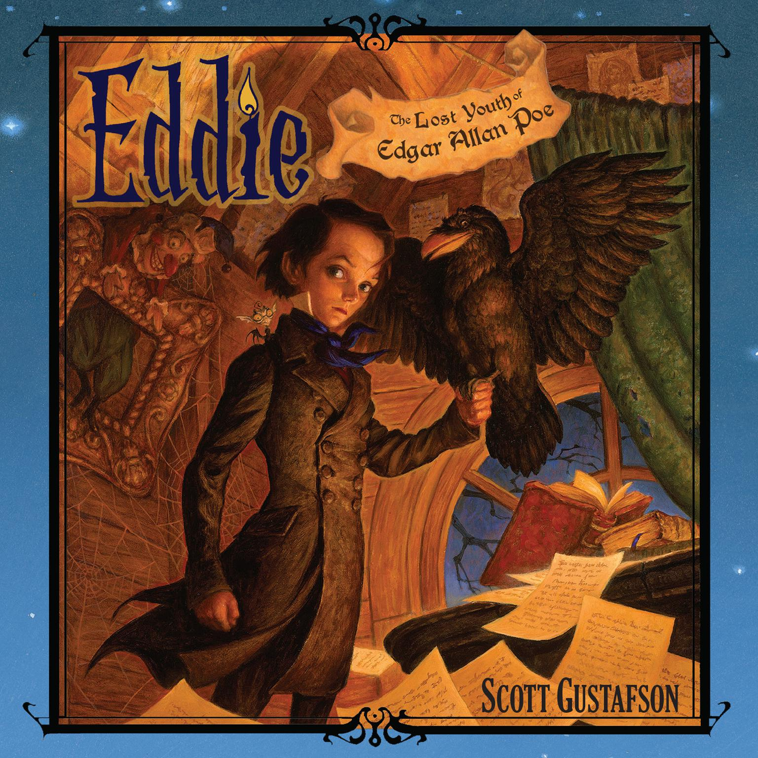 Printable Eddie: The Lost Youth of Edgar Allen Poe Audiobook Cover Art