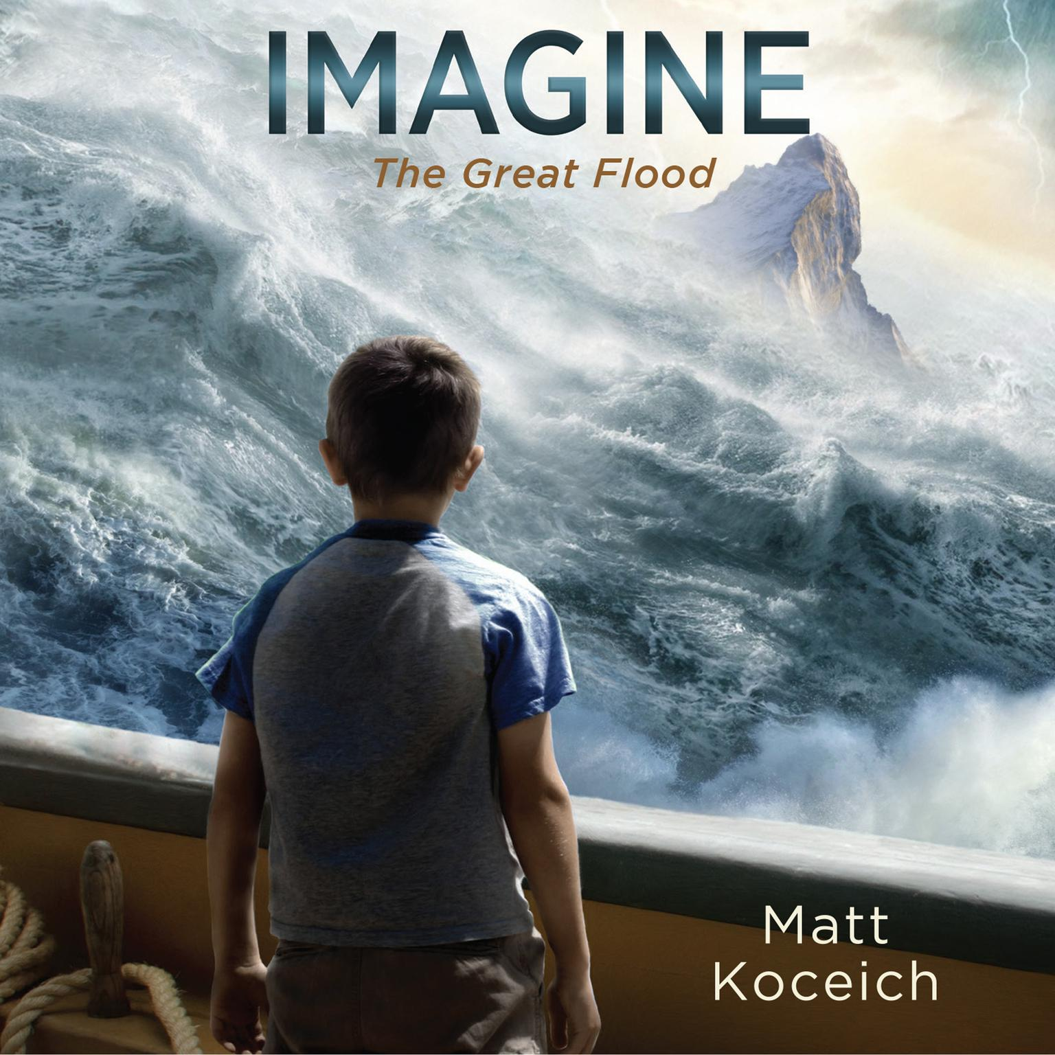 Printable Imagine...The Great Flood Audiobook Cover Art
