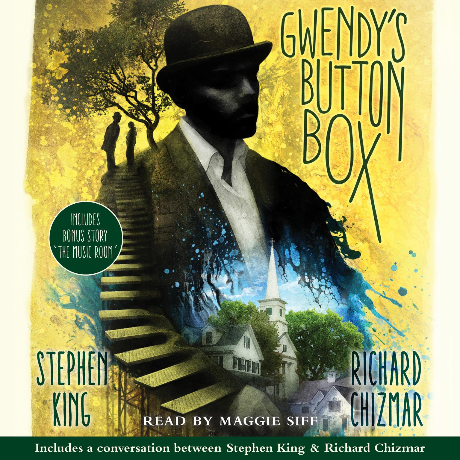Printable Gwendy's Button Box: Includes bonus story 'The Music Room' Audiobook Cover Art