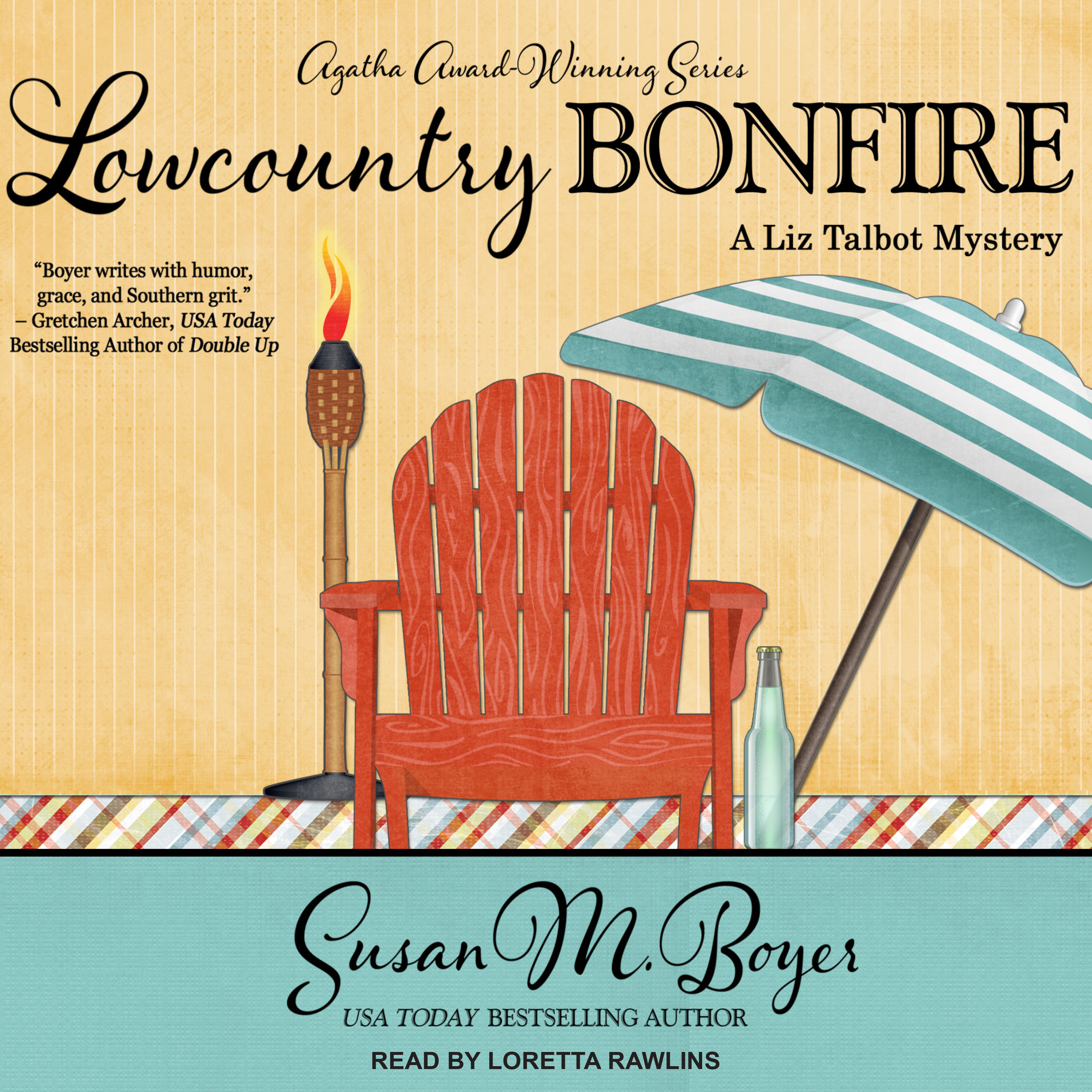 Printable Lowcountry Bonfire Audiobook Cover Art