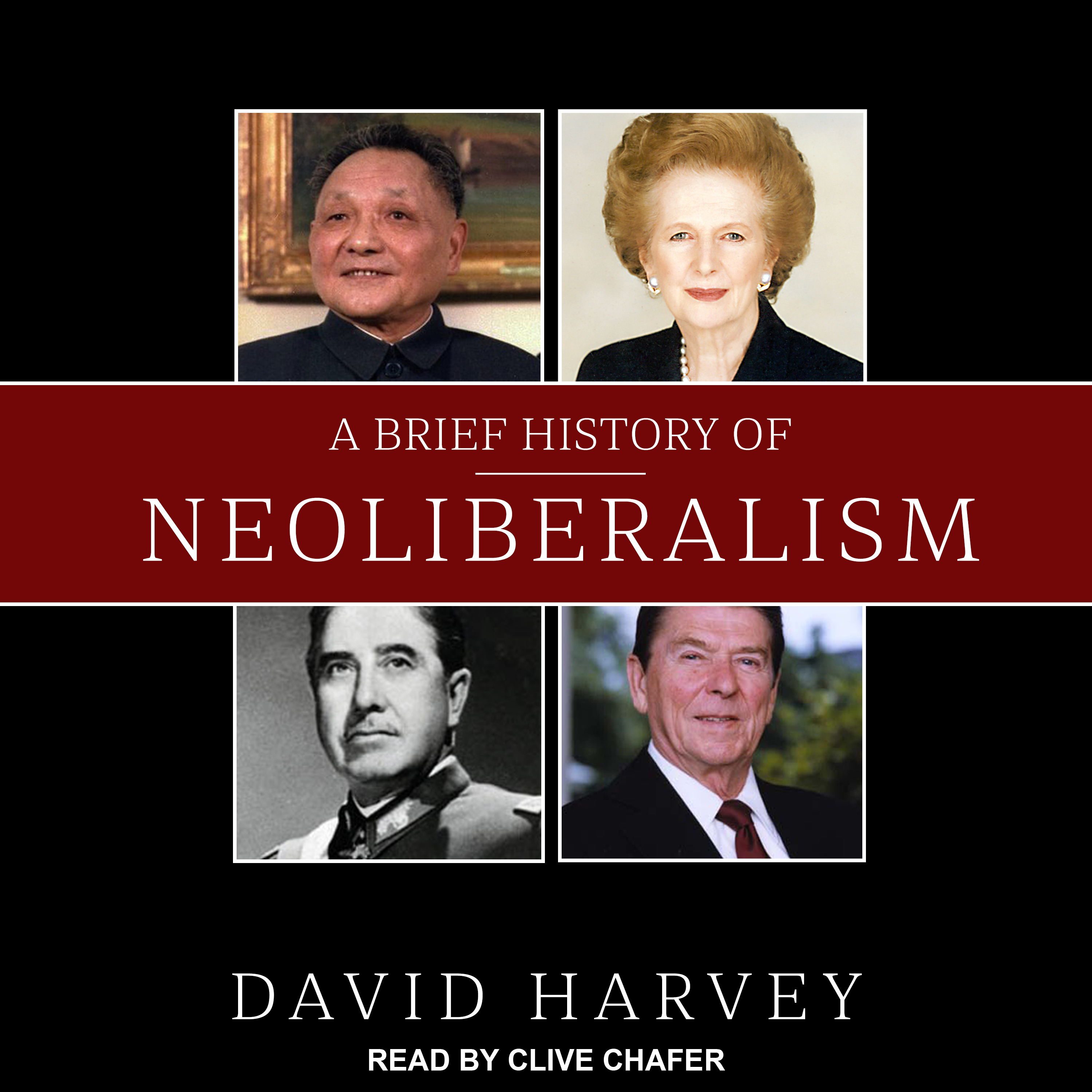 Printable A Brief History of Neoliberalism Audiobook Cover Art