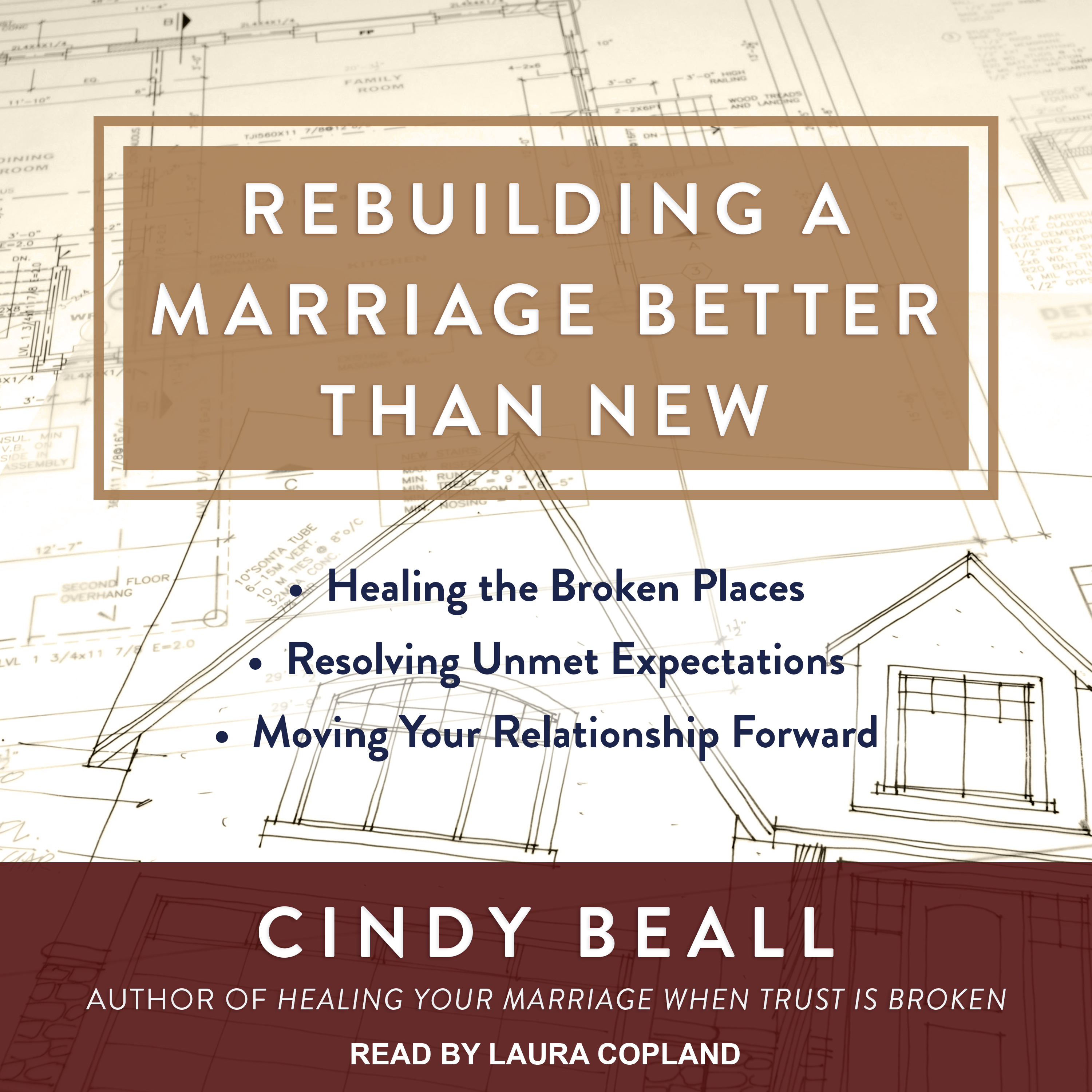 Printable Rebuilding a Marriage Better Than New: *Healing the Broken Places *Resolving Unmet Expectations *Moving Your Relationship Forward Audiobook Cover Art