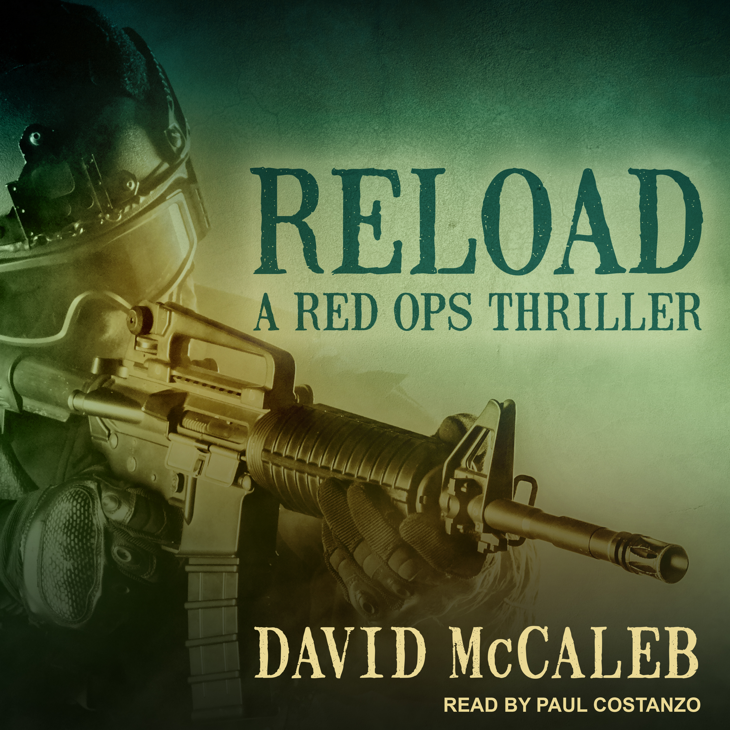 Printable Reload: A Red Ops Thriller Audiobook Cover Art
