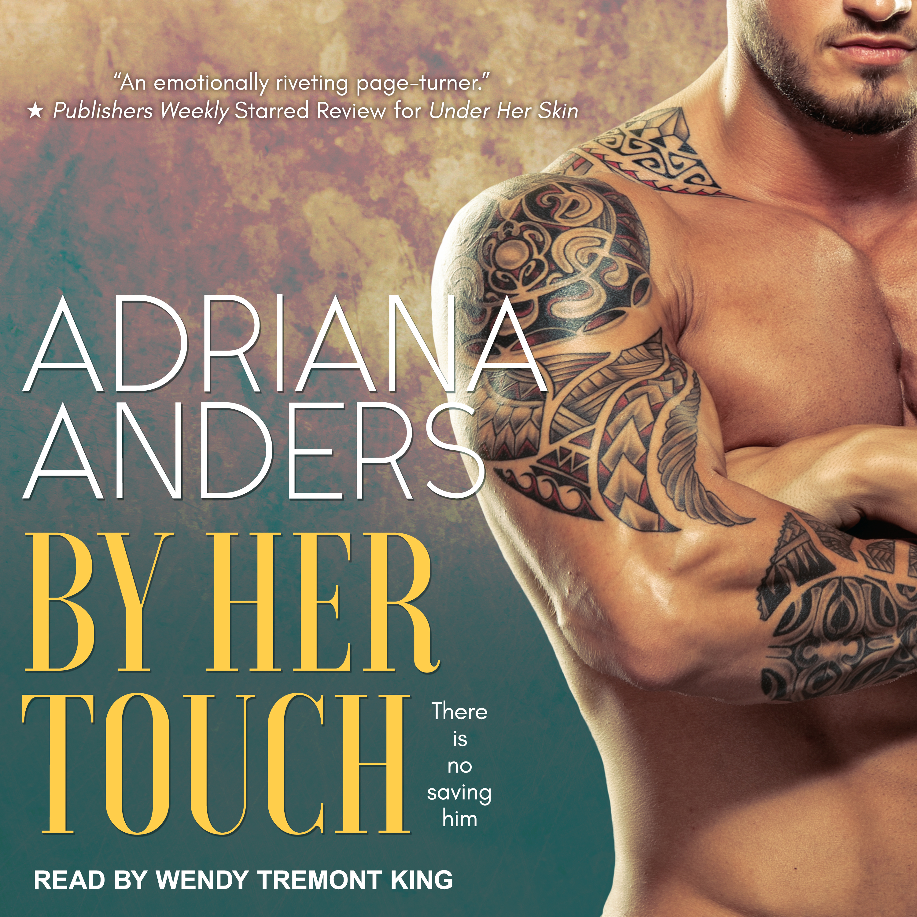 Printable By Her Touch Audiobook Cover Art
