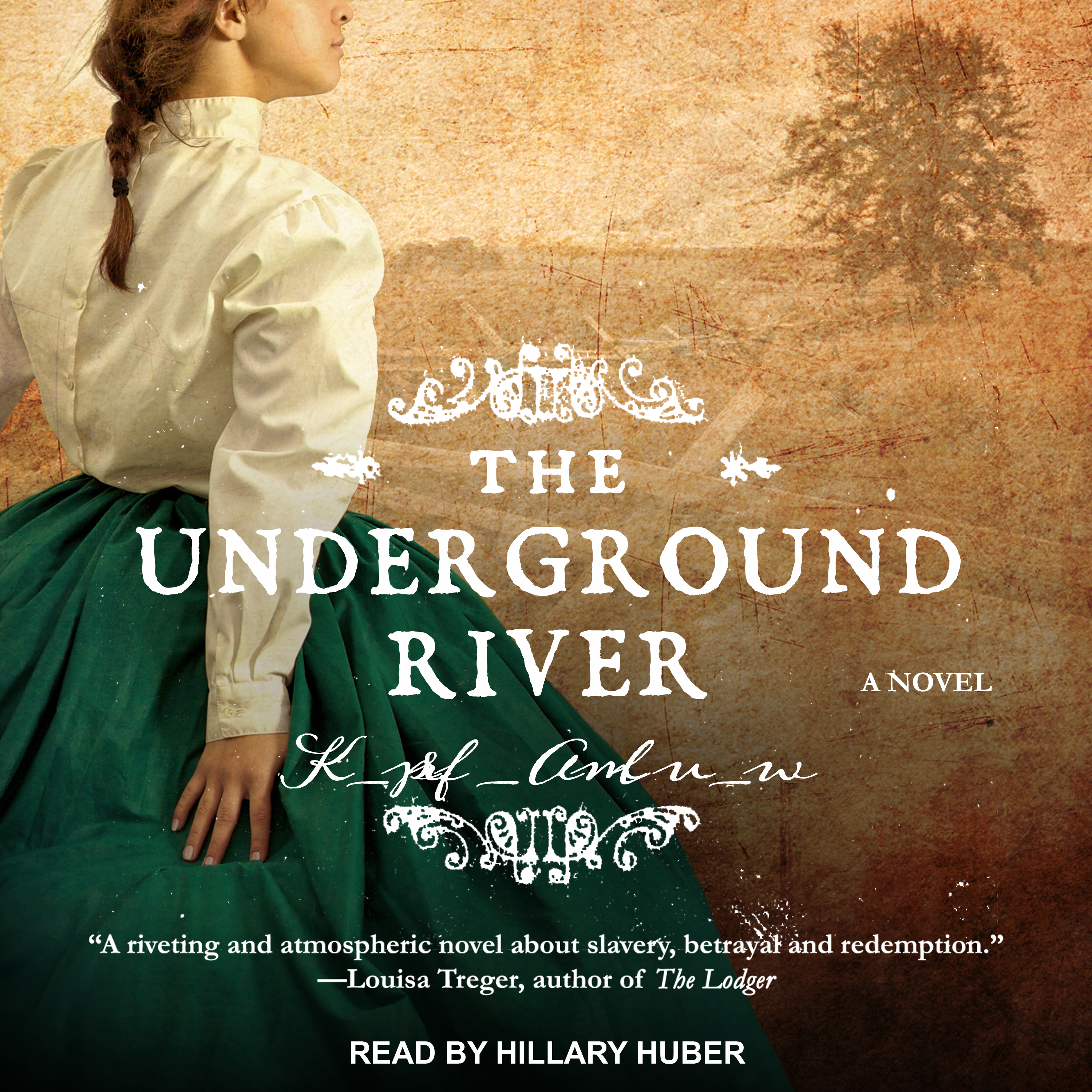 Printable The Underground River: A Novel Audiobook Cover Art