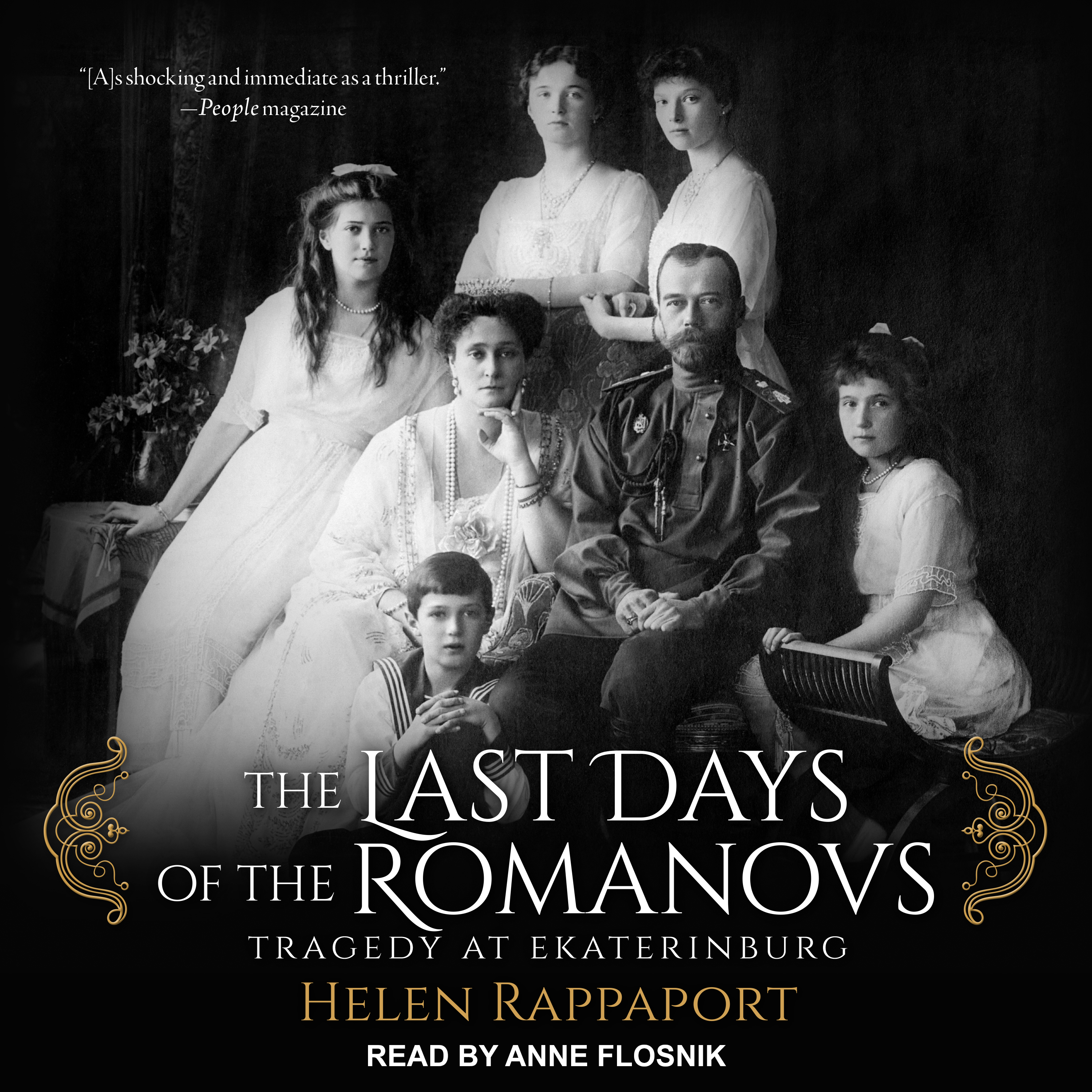 Printable The Last Days of the Romanovs: Tragedy at Ekaterinburg Audiobook Cover Art