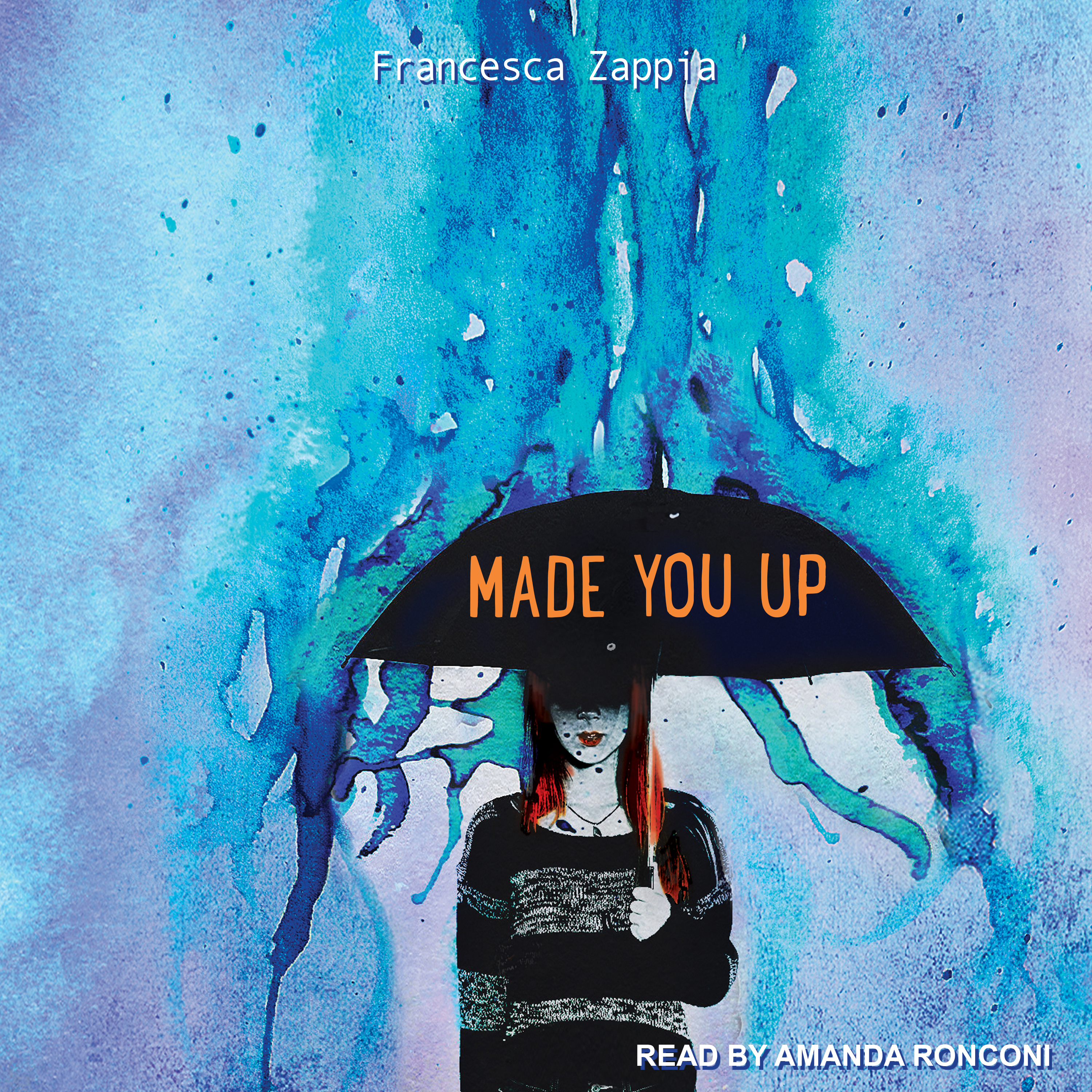 Printable Made You Up Audiobook Cover Art