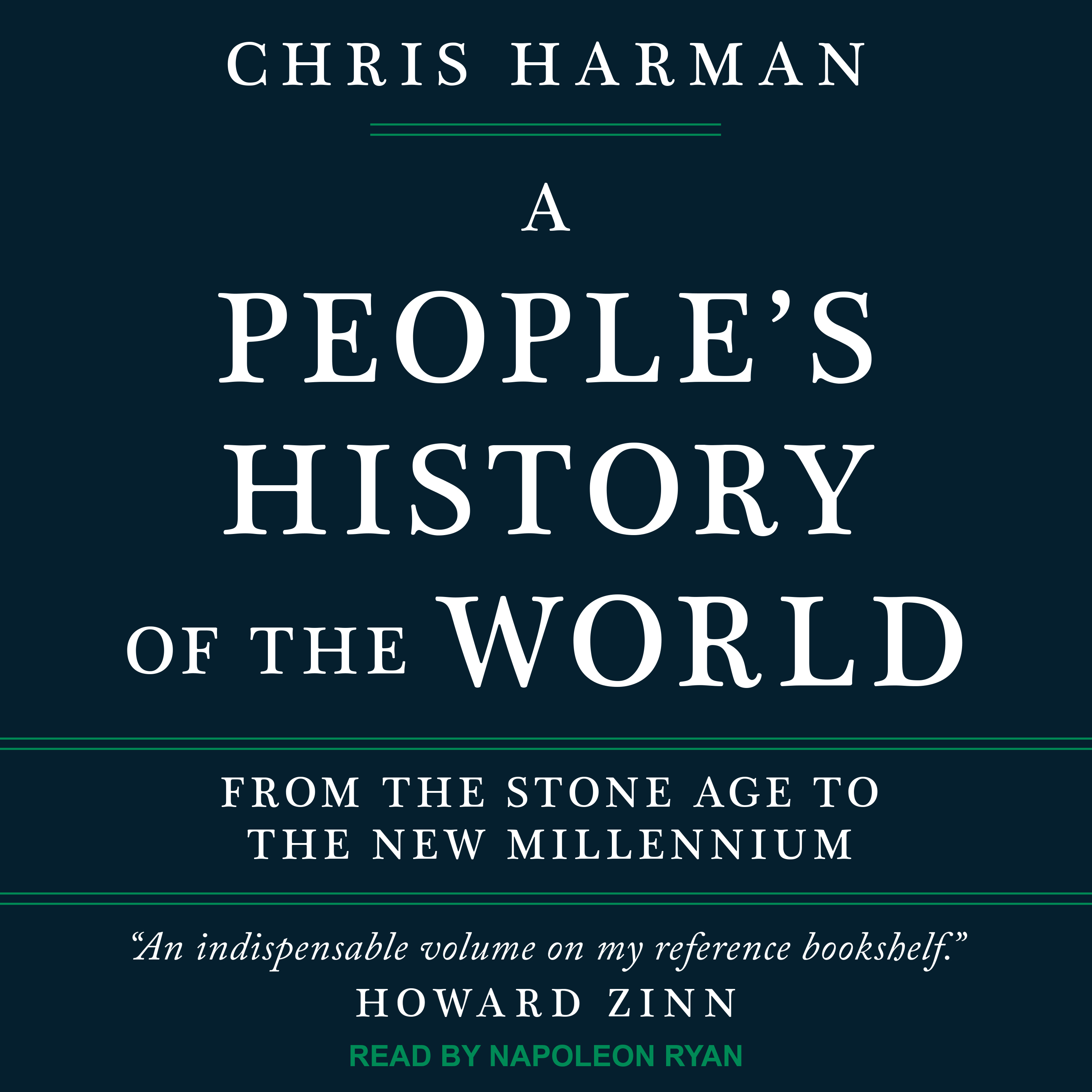 Printable A People's History of the World: From the Stone Age to the New Millennium Audiobook Cover Art
