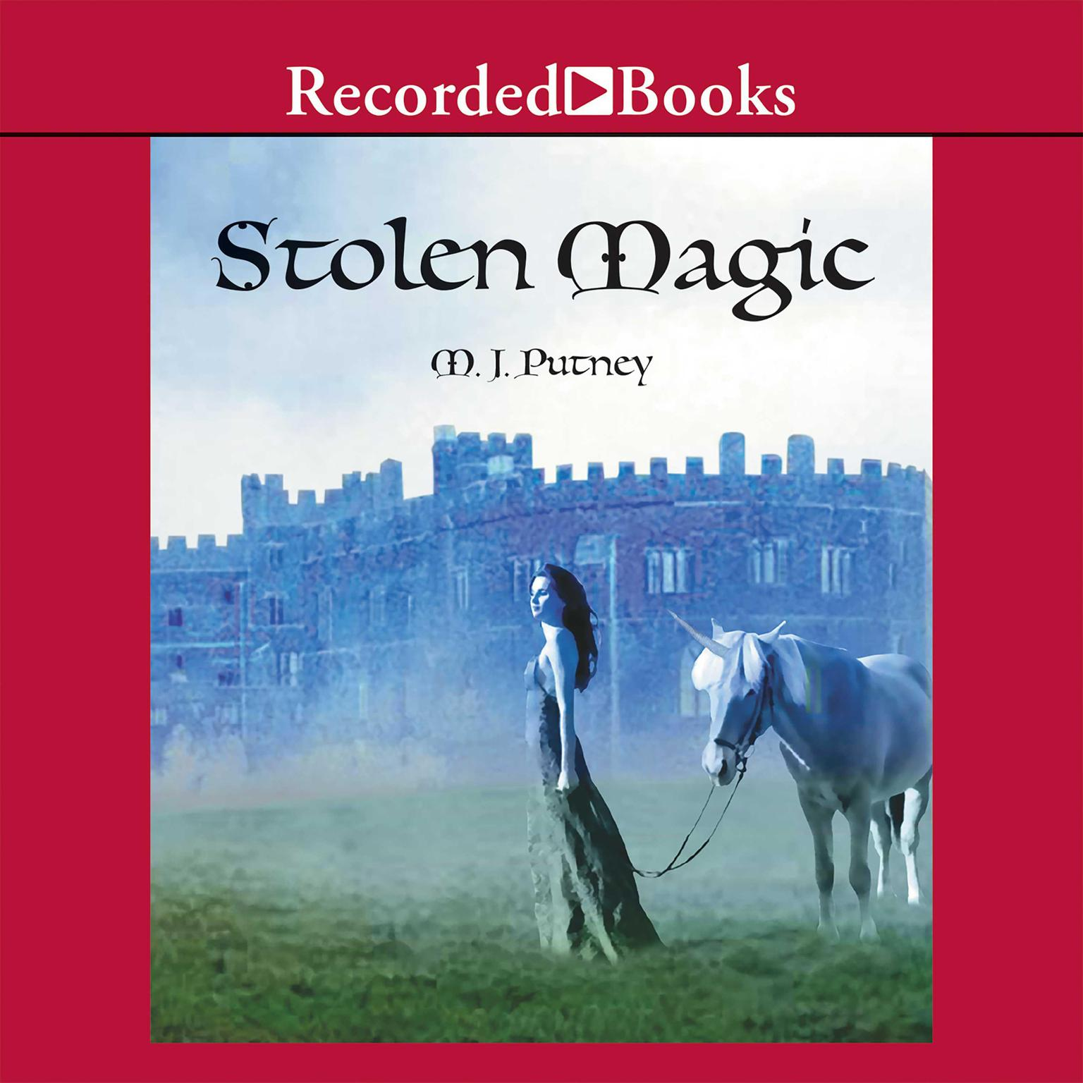 Printable Stolen Magic Audiobook Cover Art