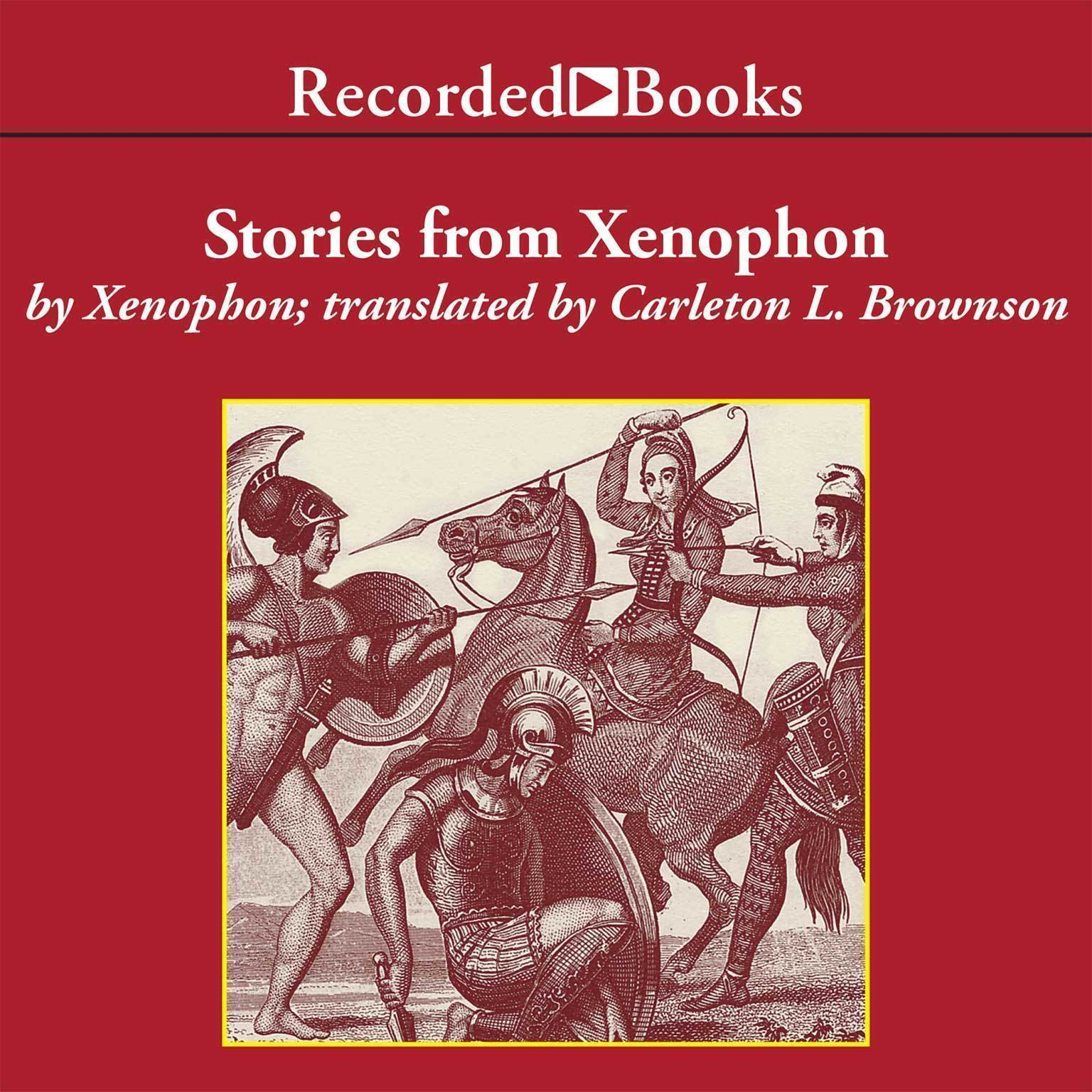 Printable Stories from Xenophon—Excerpts Audiobook Cover Art