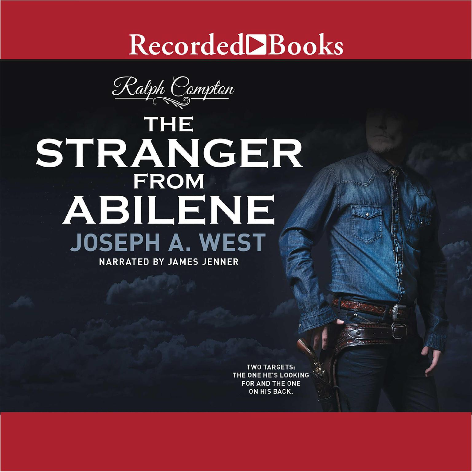 Printable Ralph Compton: The Stranger From Abilene Audiobook Cover Art
