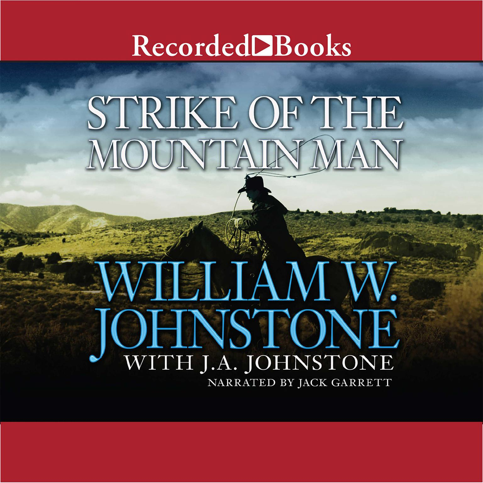 Printable Strike of the Mountain Man Audiobook Cover Art