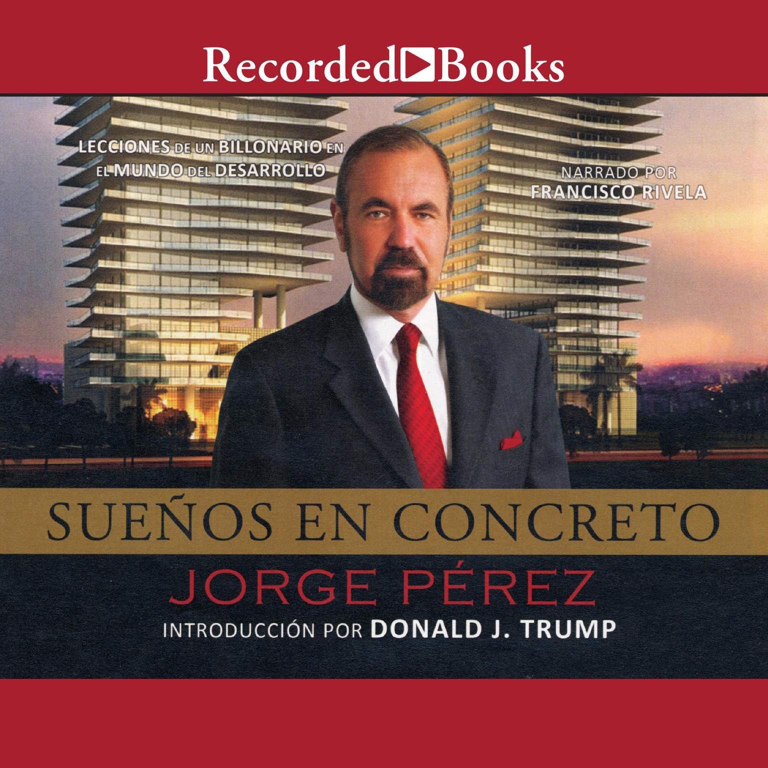 Printable Sueños en concreto Audiobook Cover Art