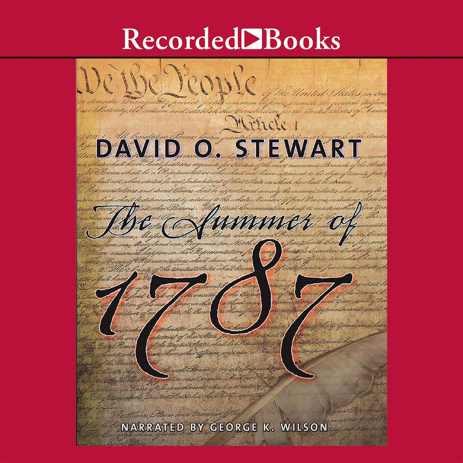 Printable The Summer of 1787: The Men Who Invented the Constitution Audiobook Cover Art