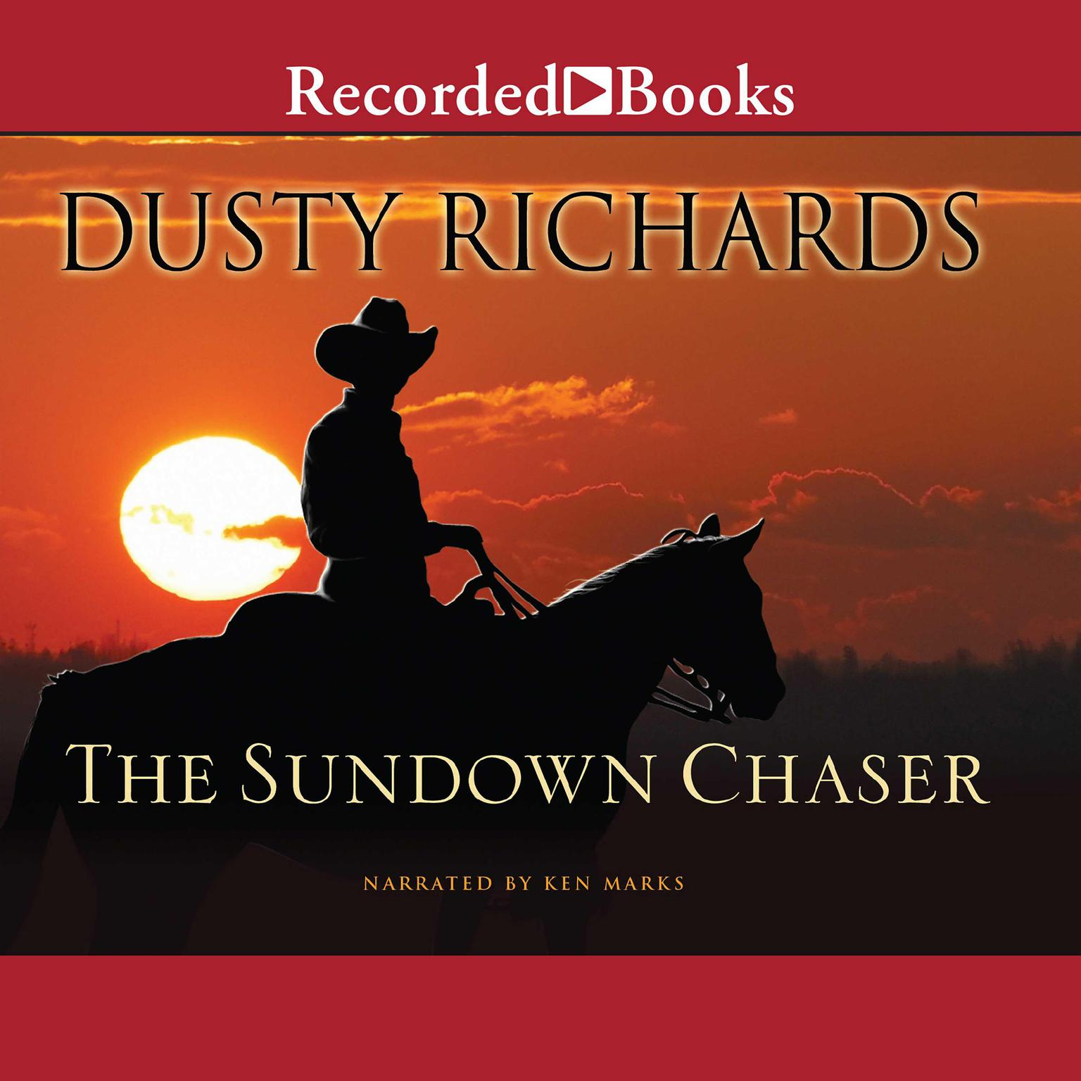 Printable The Sundown Chaser Audiobook Cover Art