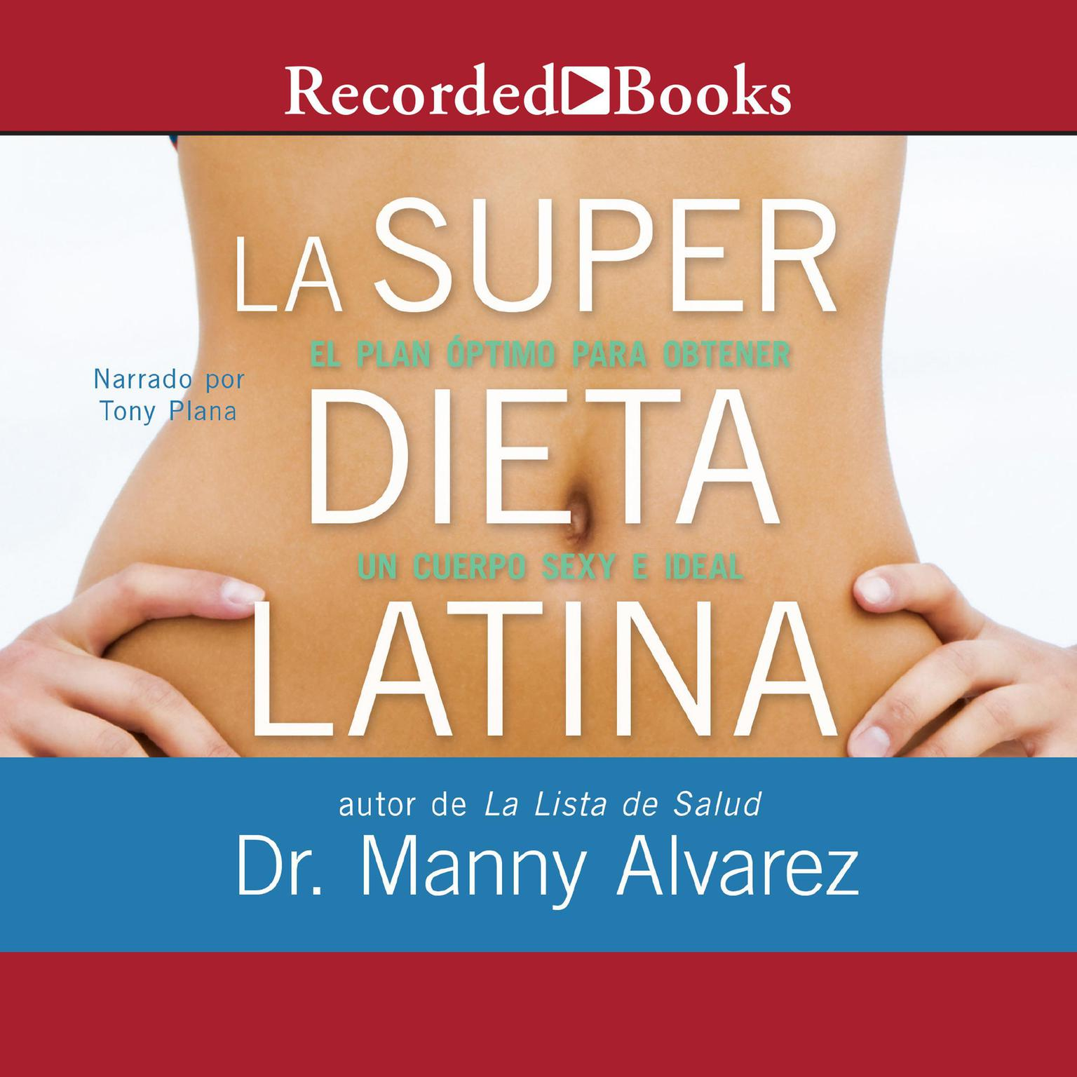 Printable La Super Dieta Latina Audiobook Cover Art