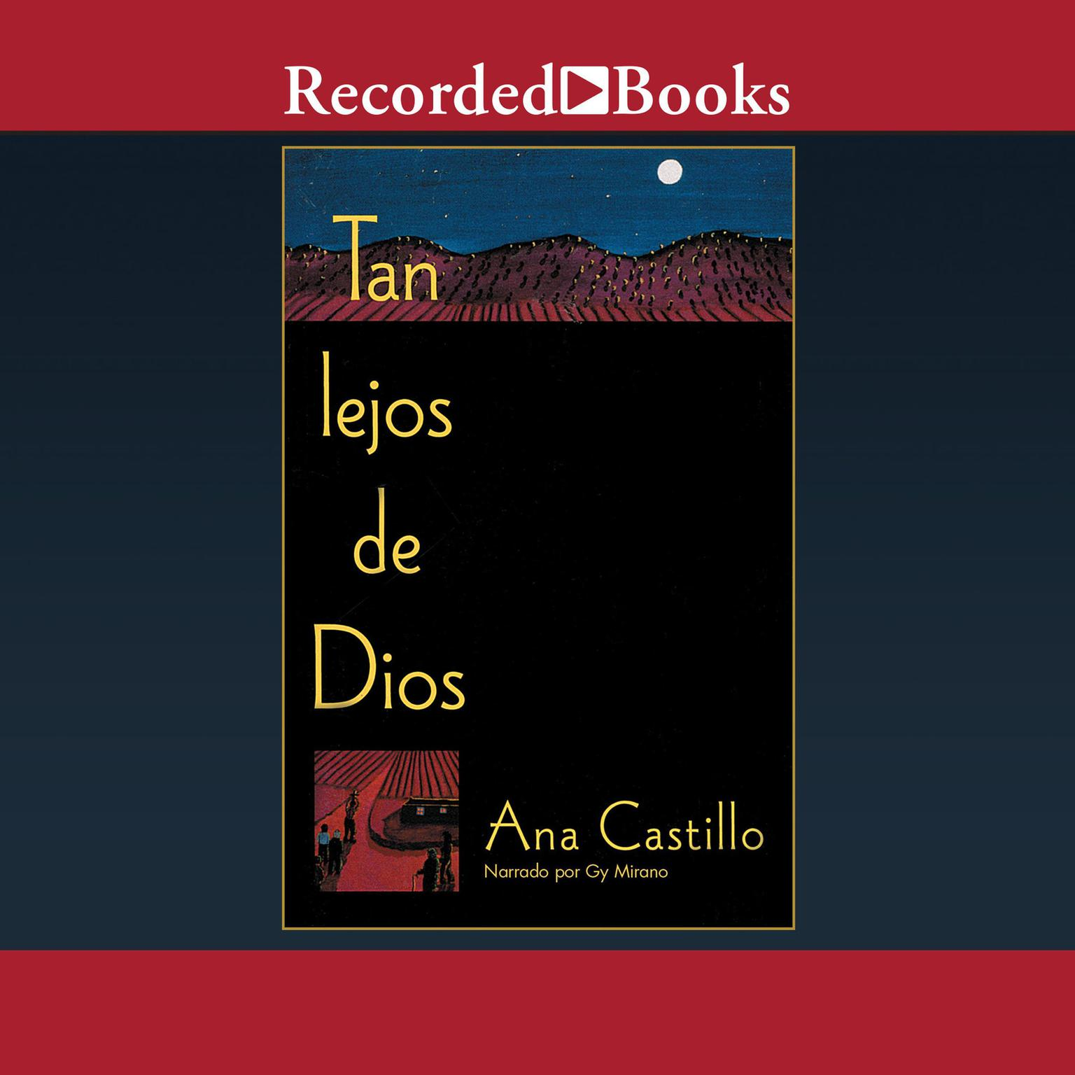 Printable Tan Lejos de Dios Audiobook Cover Art