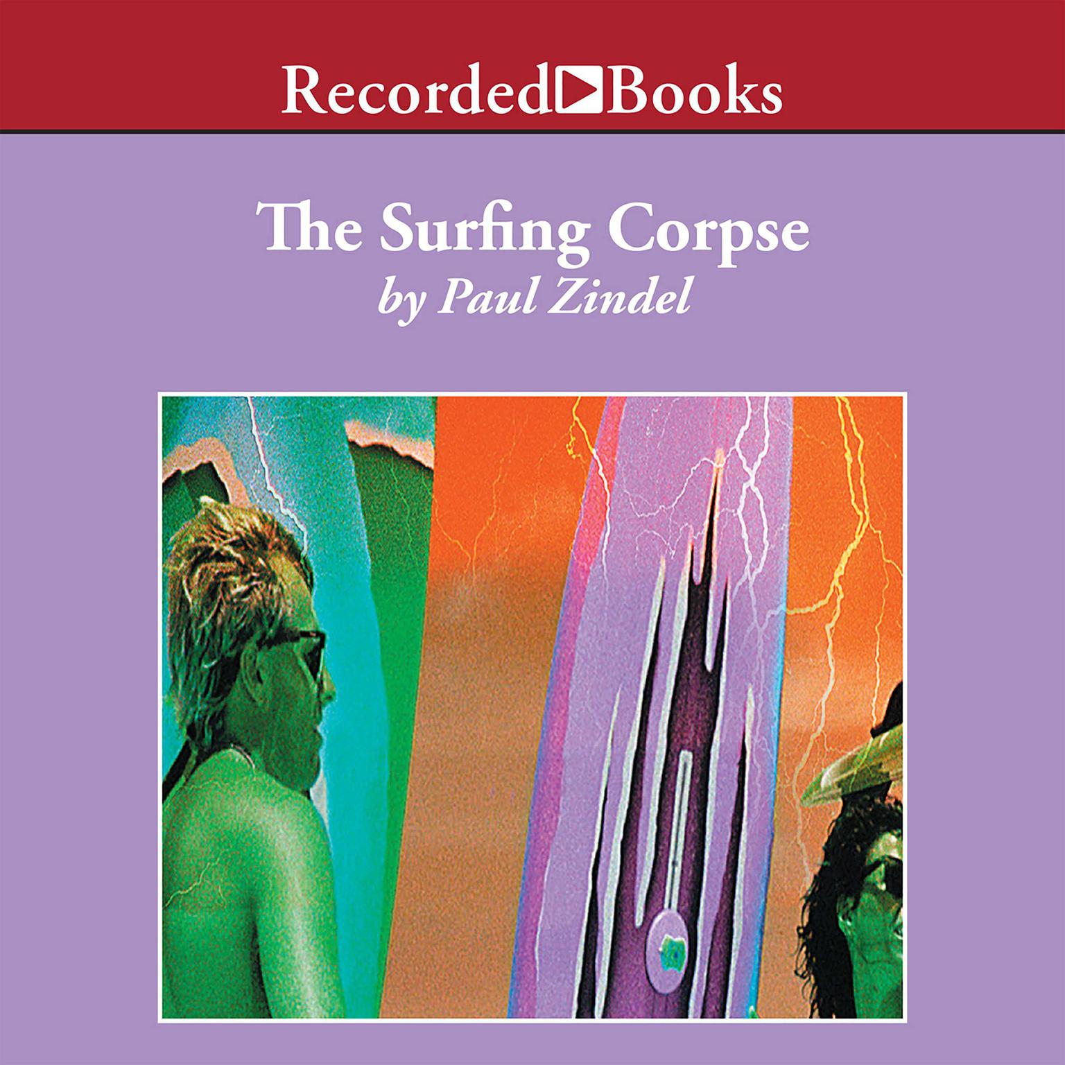 Printable The Surfing Corpse Audiobook Cover Art