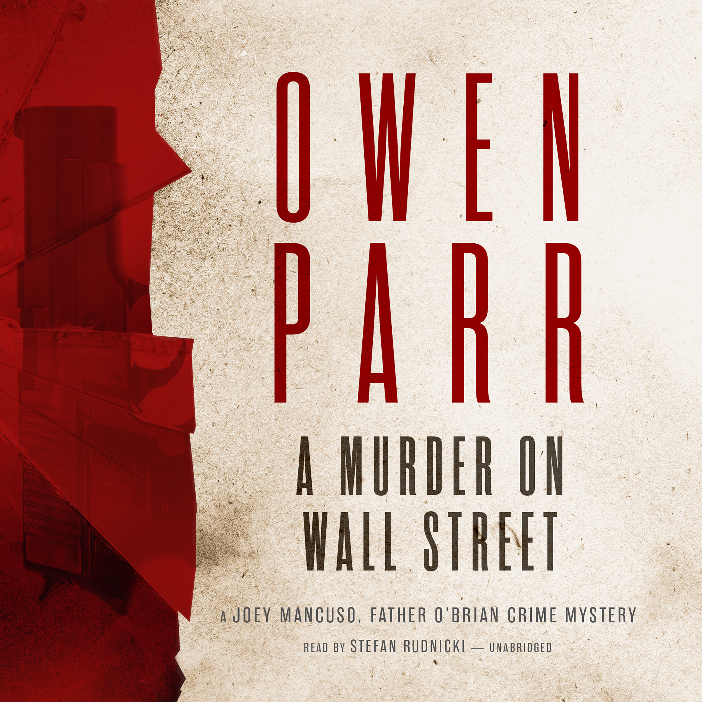 Printable A Murder on Wall Street Audiobook Cover Art