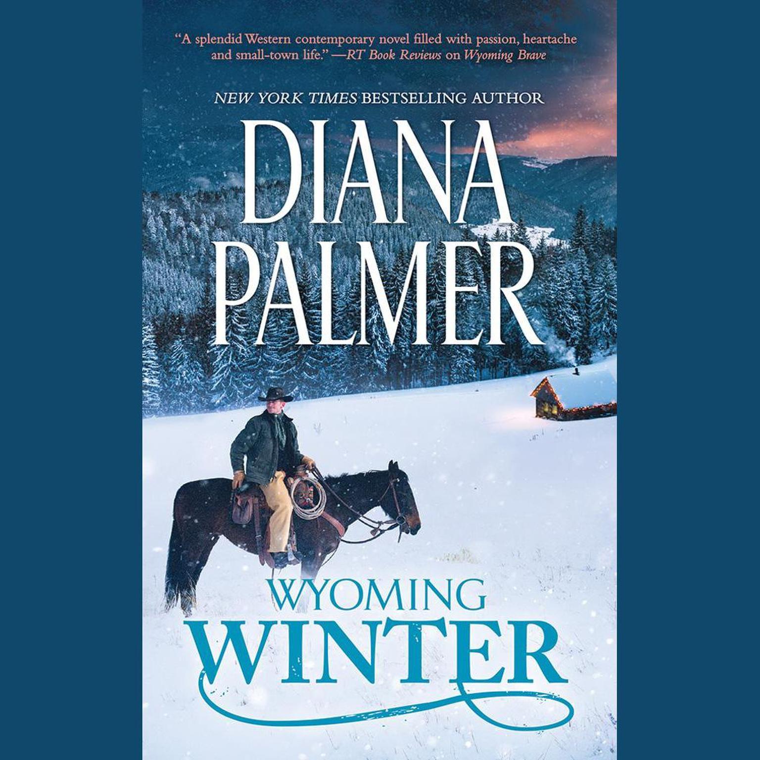 Printable Wyoming Winter Audiobook Cover Art