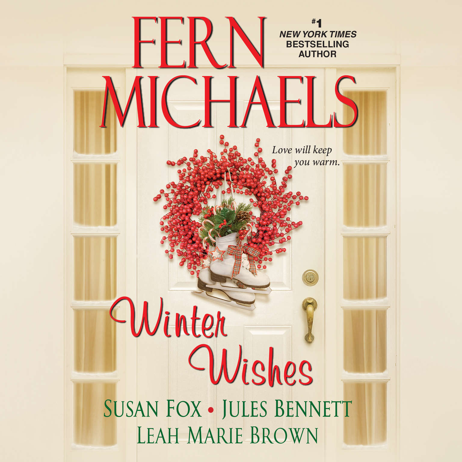 Printable Winter Wishes Audiobook Cover Art