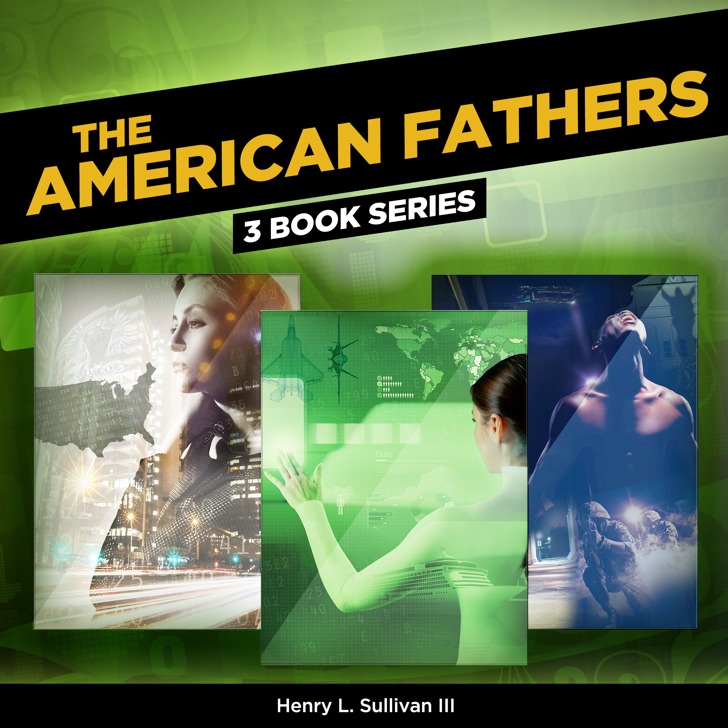 Printable THE AMERICAN FATHERS: (3 BOOK SERIES) Audiobook Cover Art