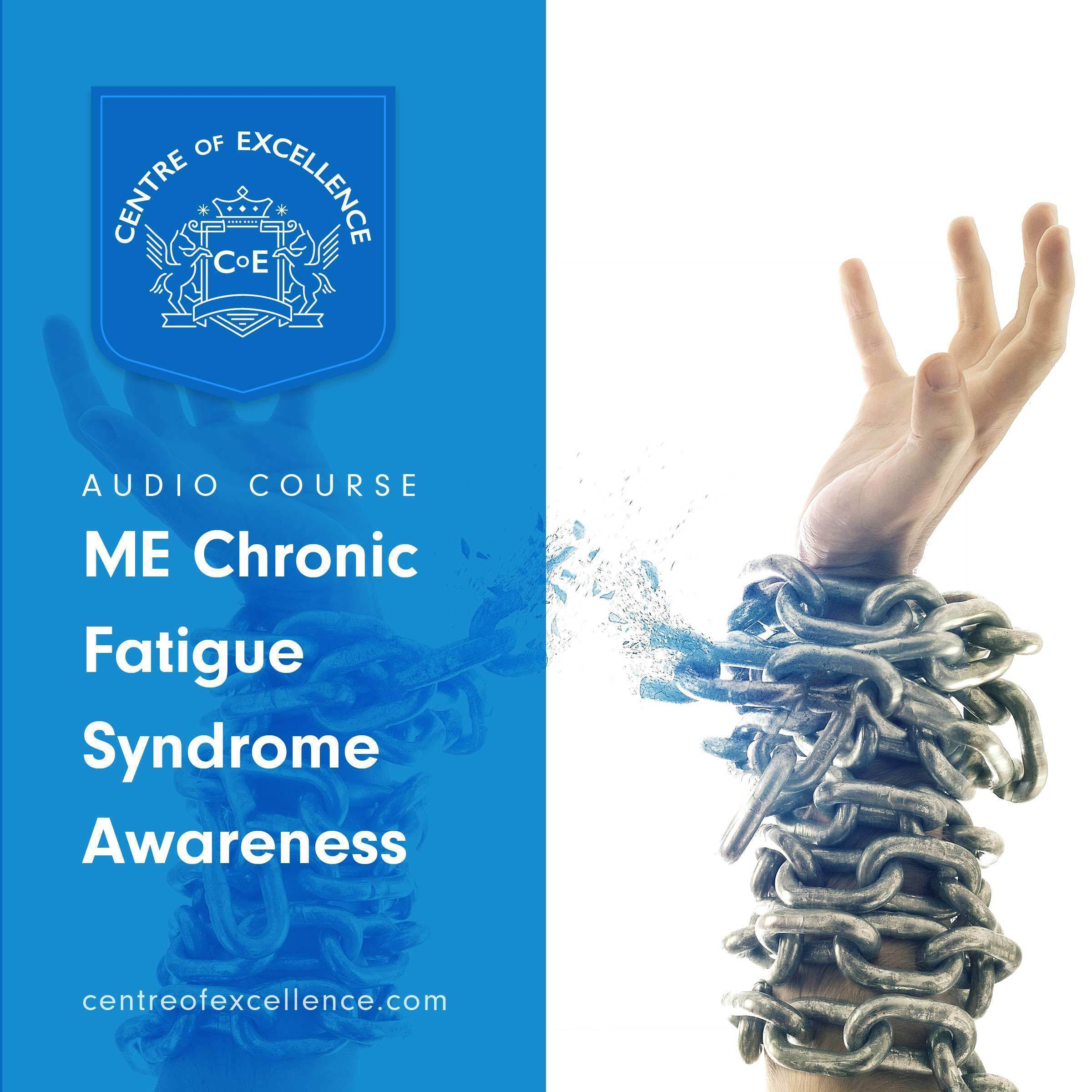 Printable ME/Chronic Fatigue Syndrome Awareness Audiobook Cover Art