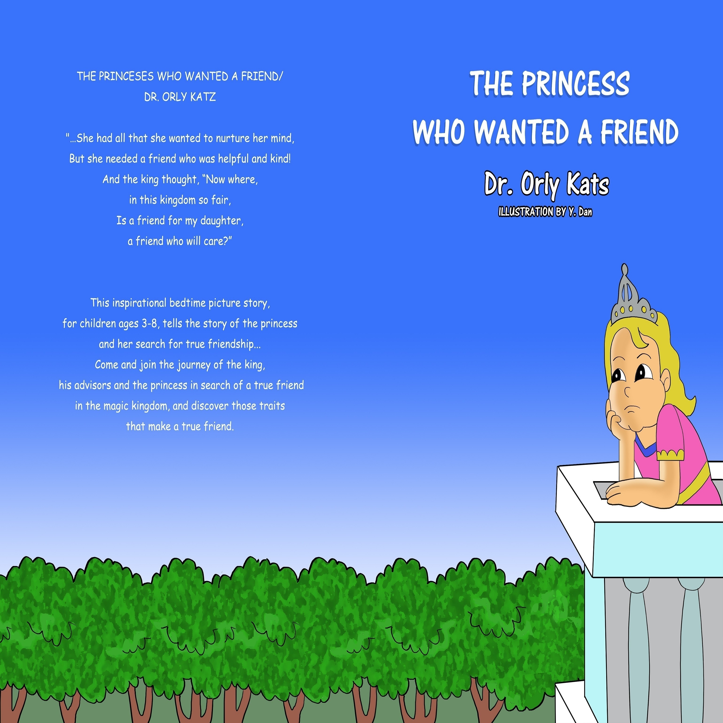 Printable The Princess Who Wanted a Friend Audiobook Cover Art