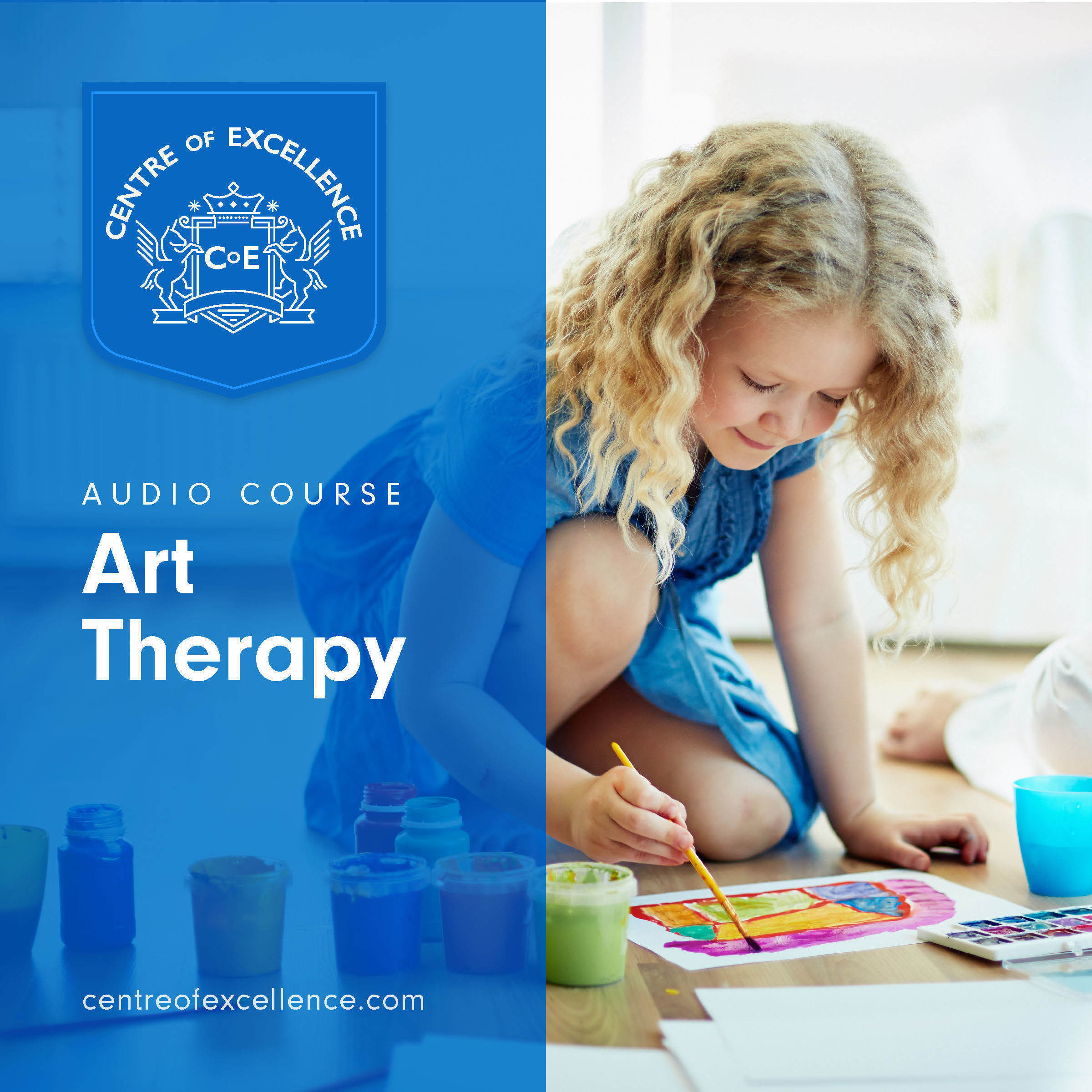 Printable Art Therapy Audiobook Cover Art
