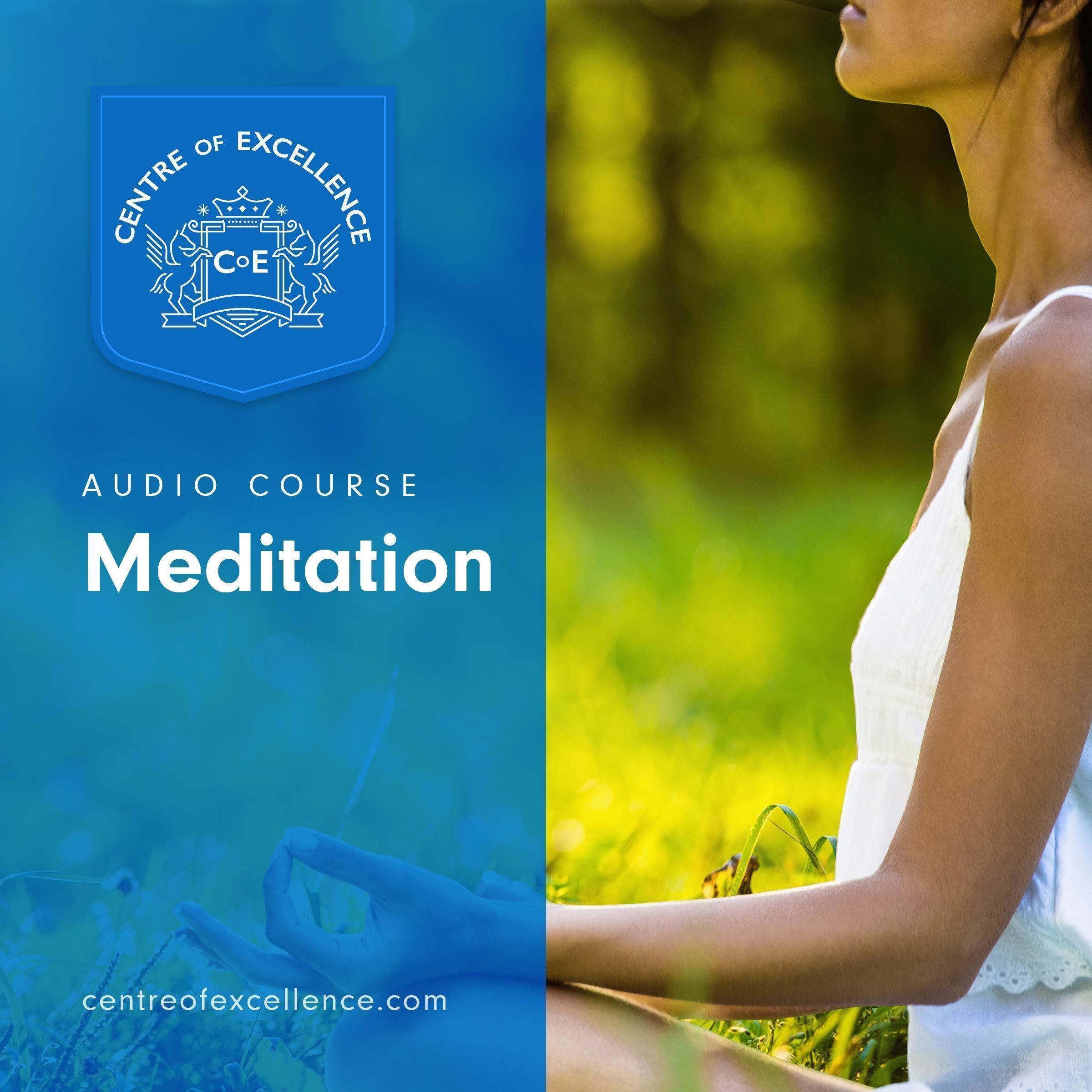 Printable Meditation Audiobook Cover Art