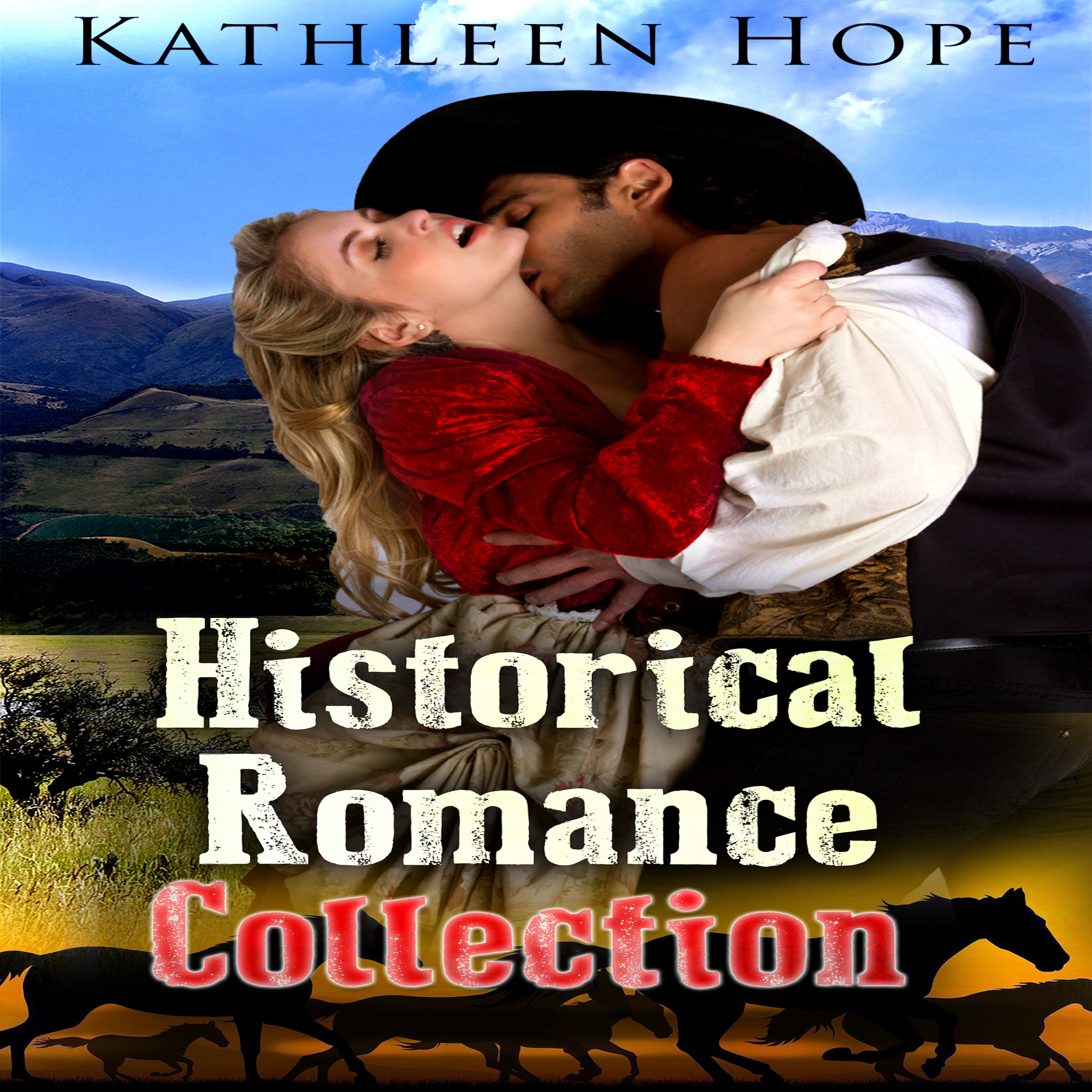 Printable Historical Romance Collection Audiobook Cover Art