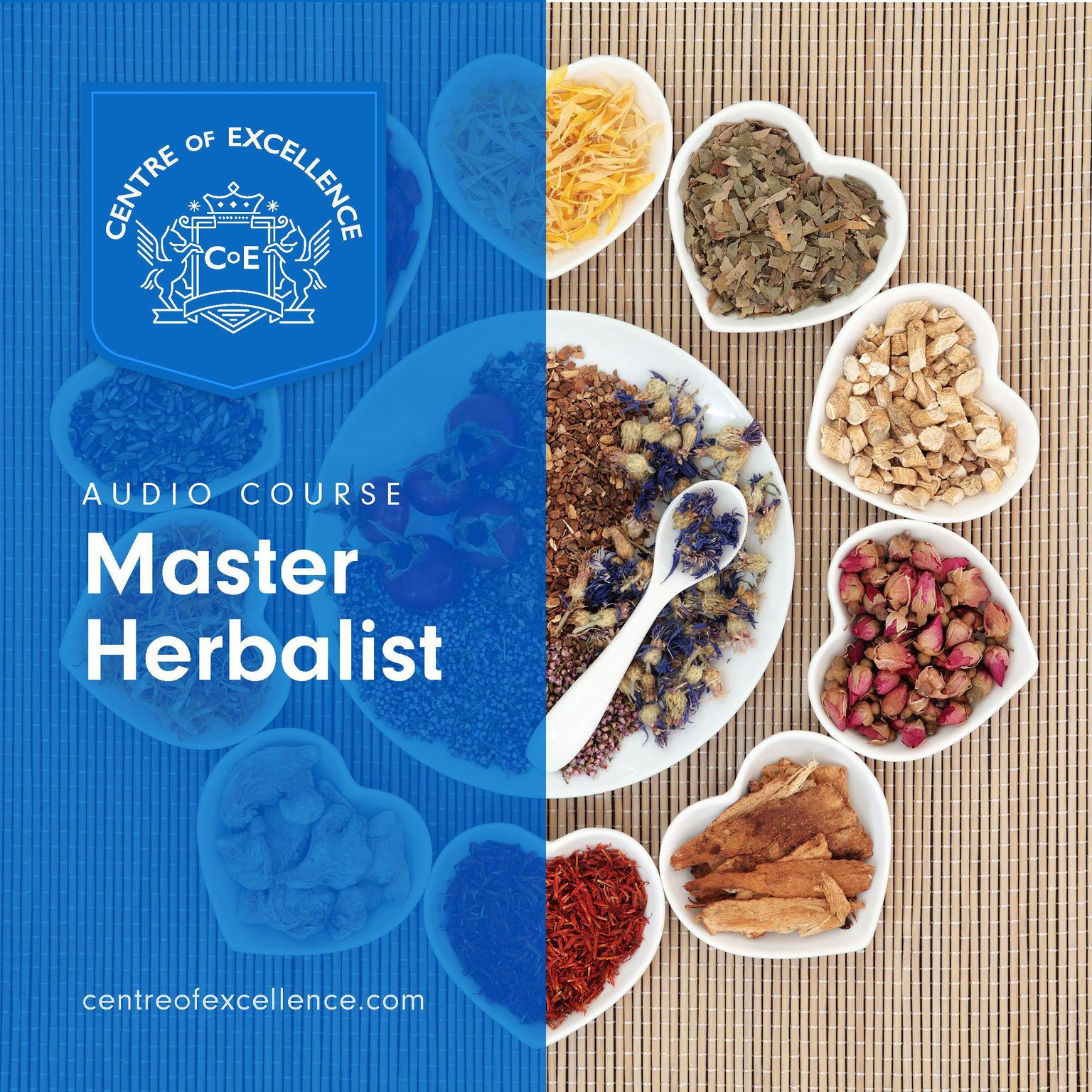 Printable Master Herbalist Audiobook Cover Art
