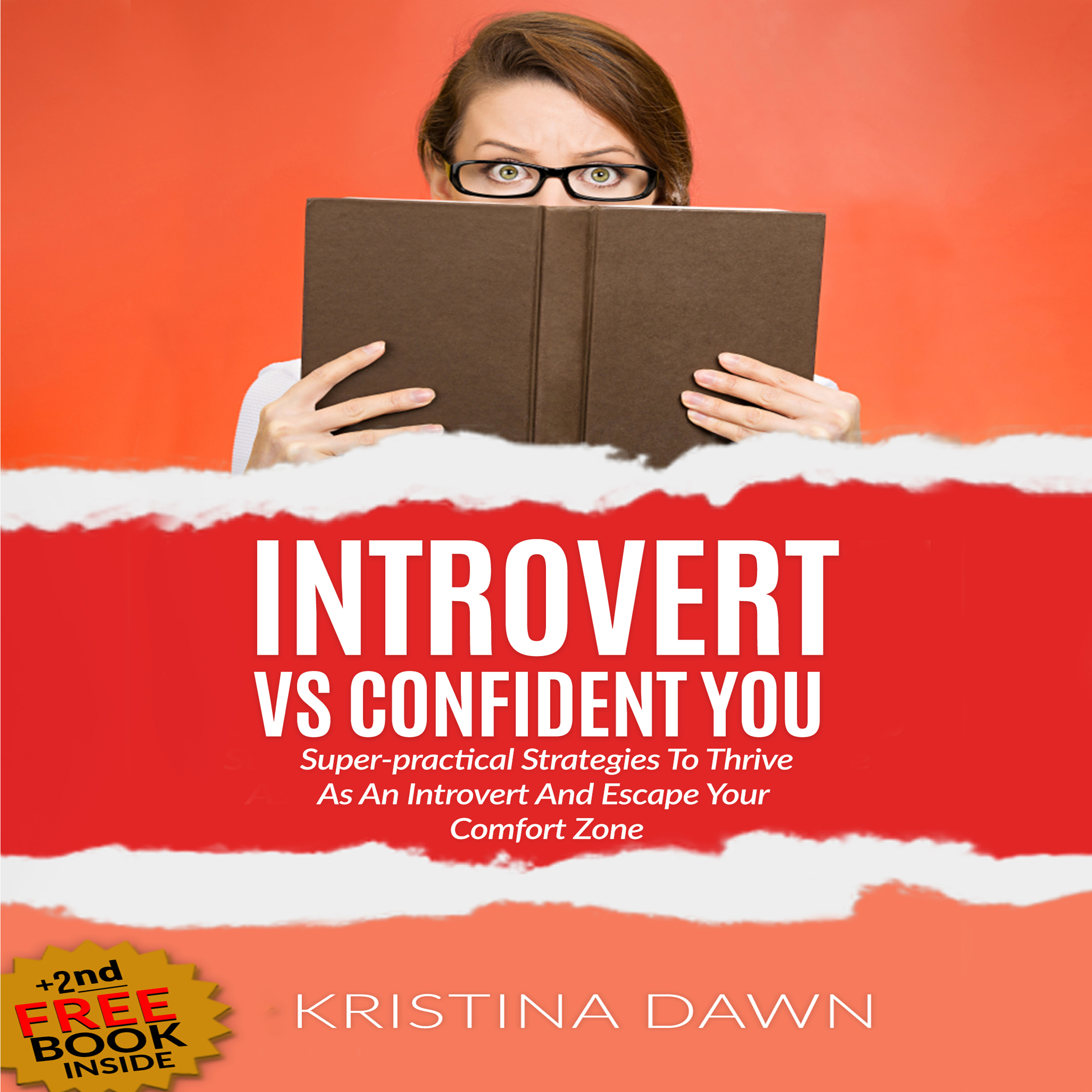 Printable Introvert Vs. Confident You: Super-Practical Strategies to Thrive as an Introvert and Escape Your Comfort Zone Audiobook Cover Art