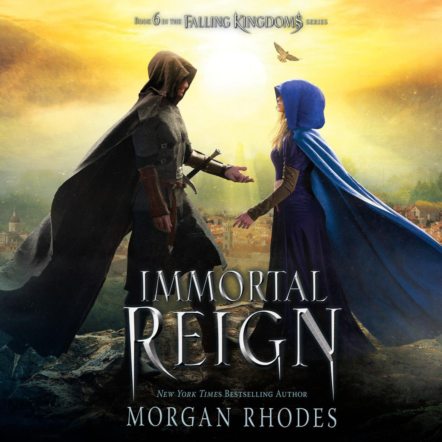 Printable Immortal Reign: A Falling Kingdoms Novel Audiobook Cover Art