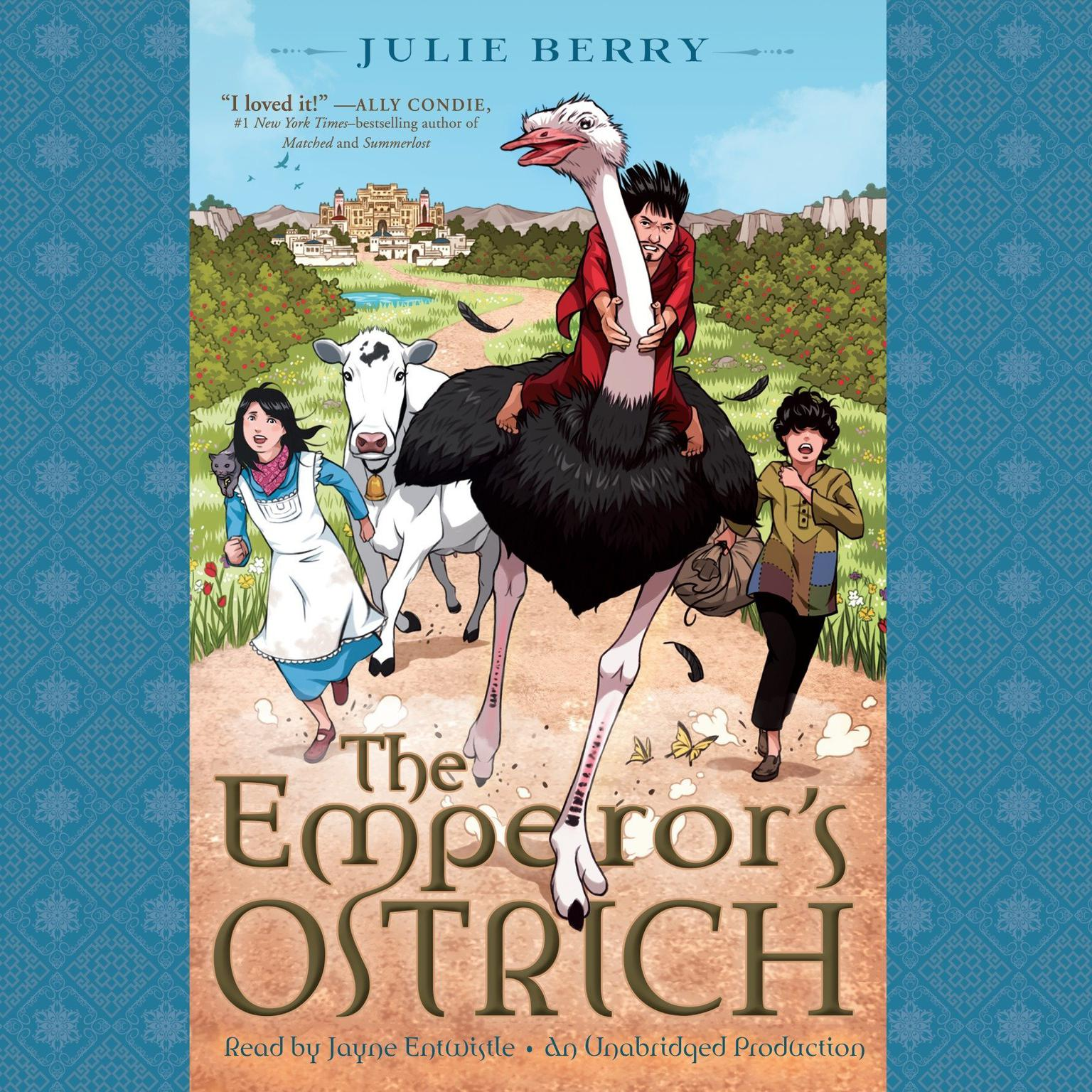 Printable The Emperor's Ostrich Audiobook Cover Art