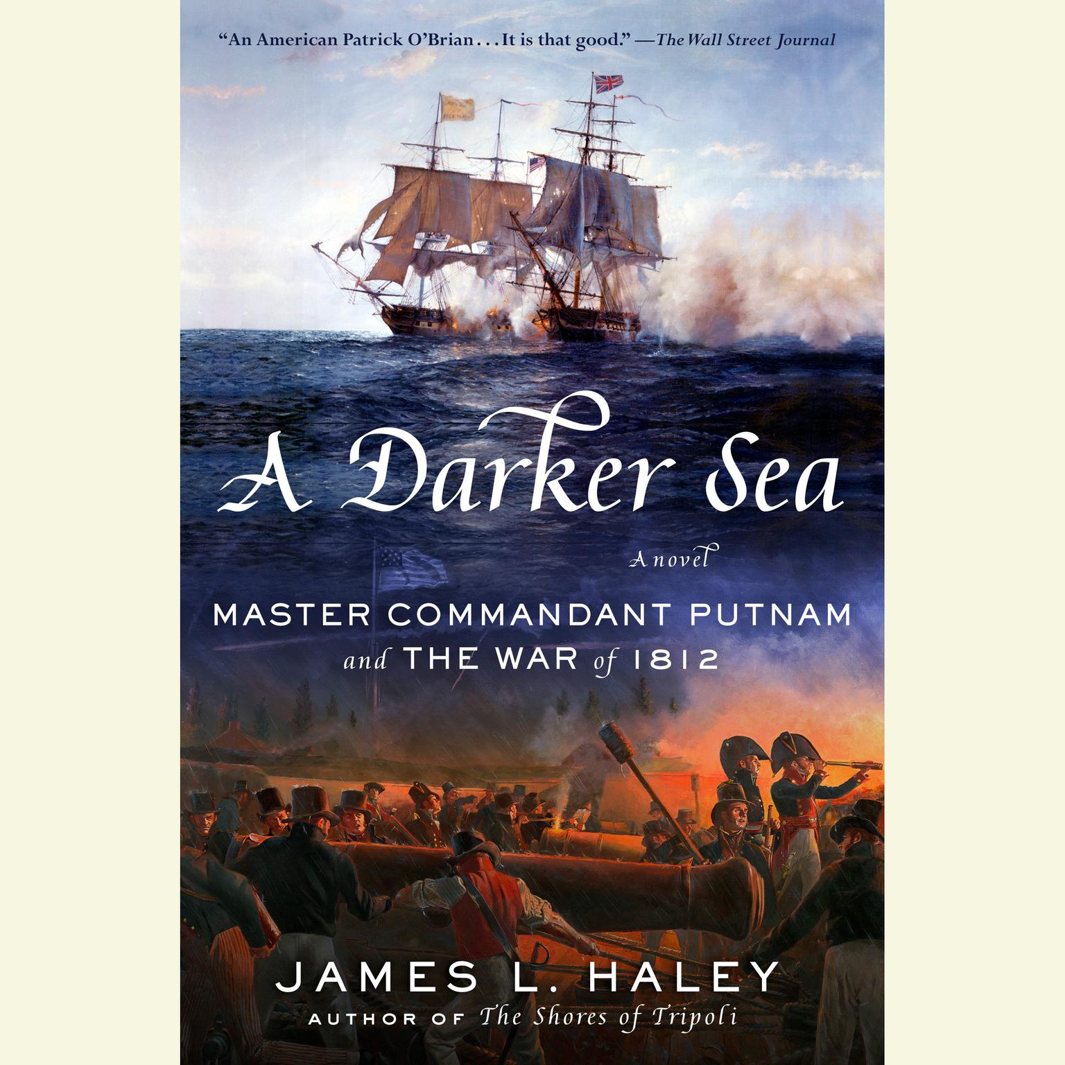 Printable A Darker Sea: Master Commandant Putnam and the War of 1812 Audiobook Cover Art