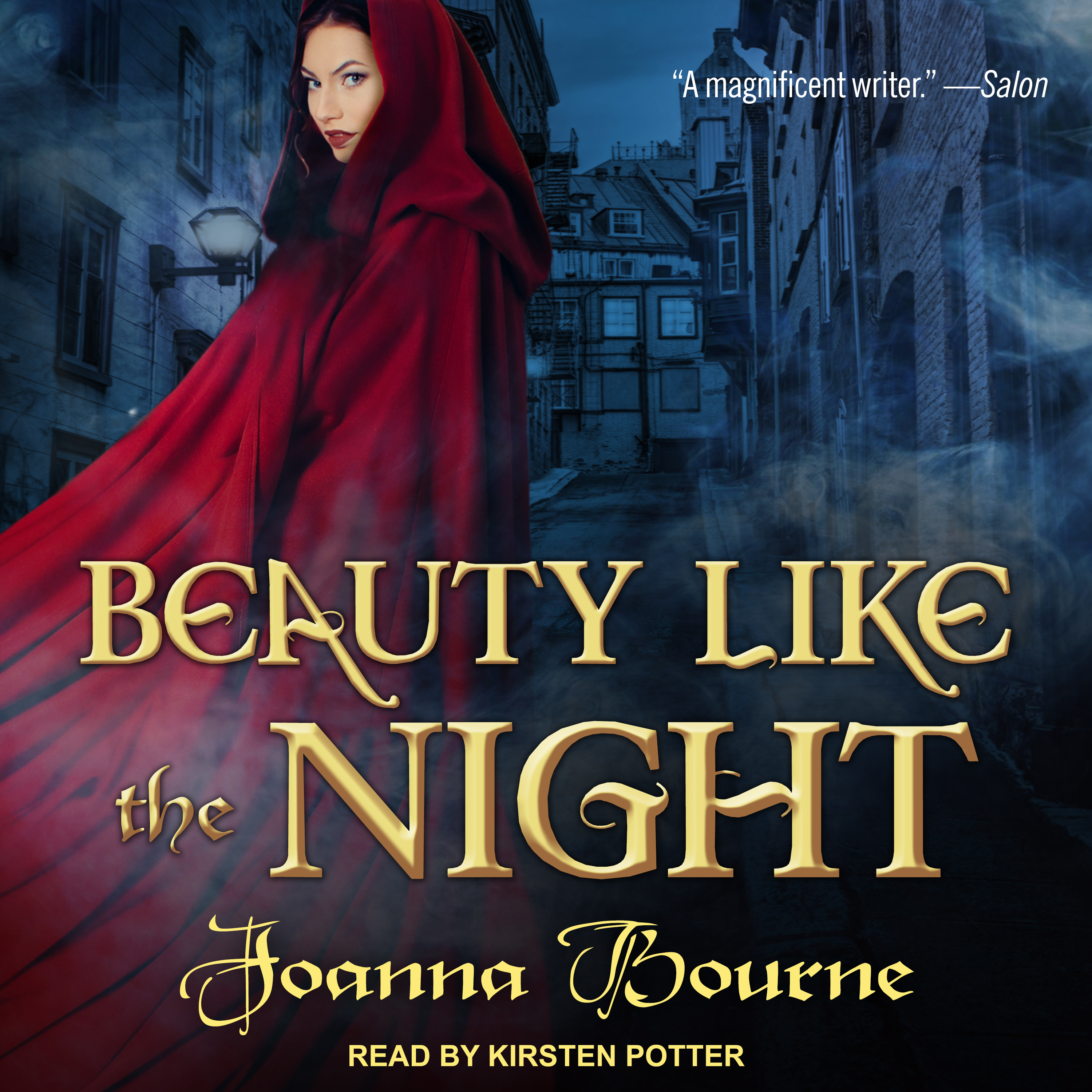 Printable Beauty Like the Night Audiobook Cover Art
