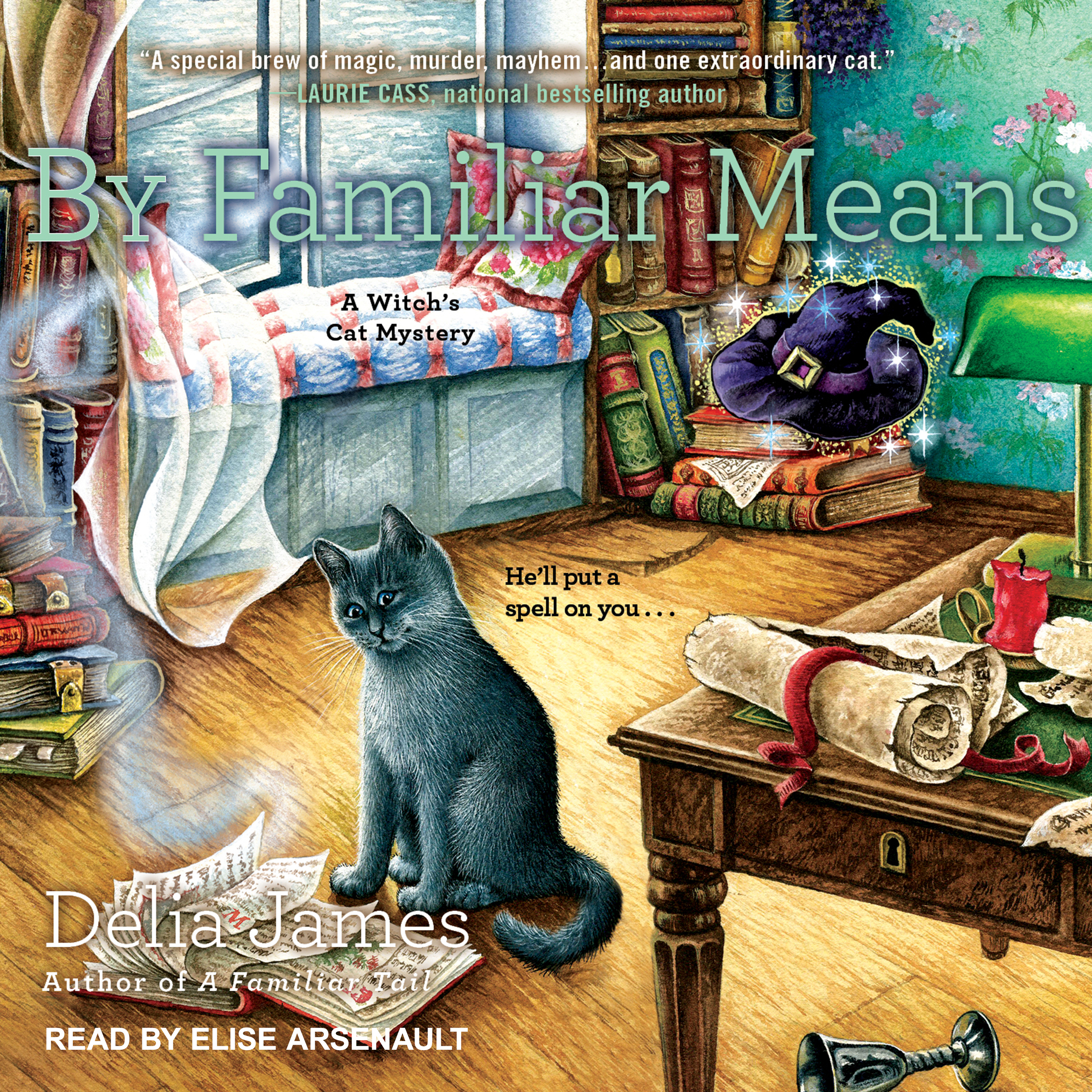 Printable By Familiar Means Audiobook Cover Art
