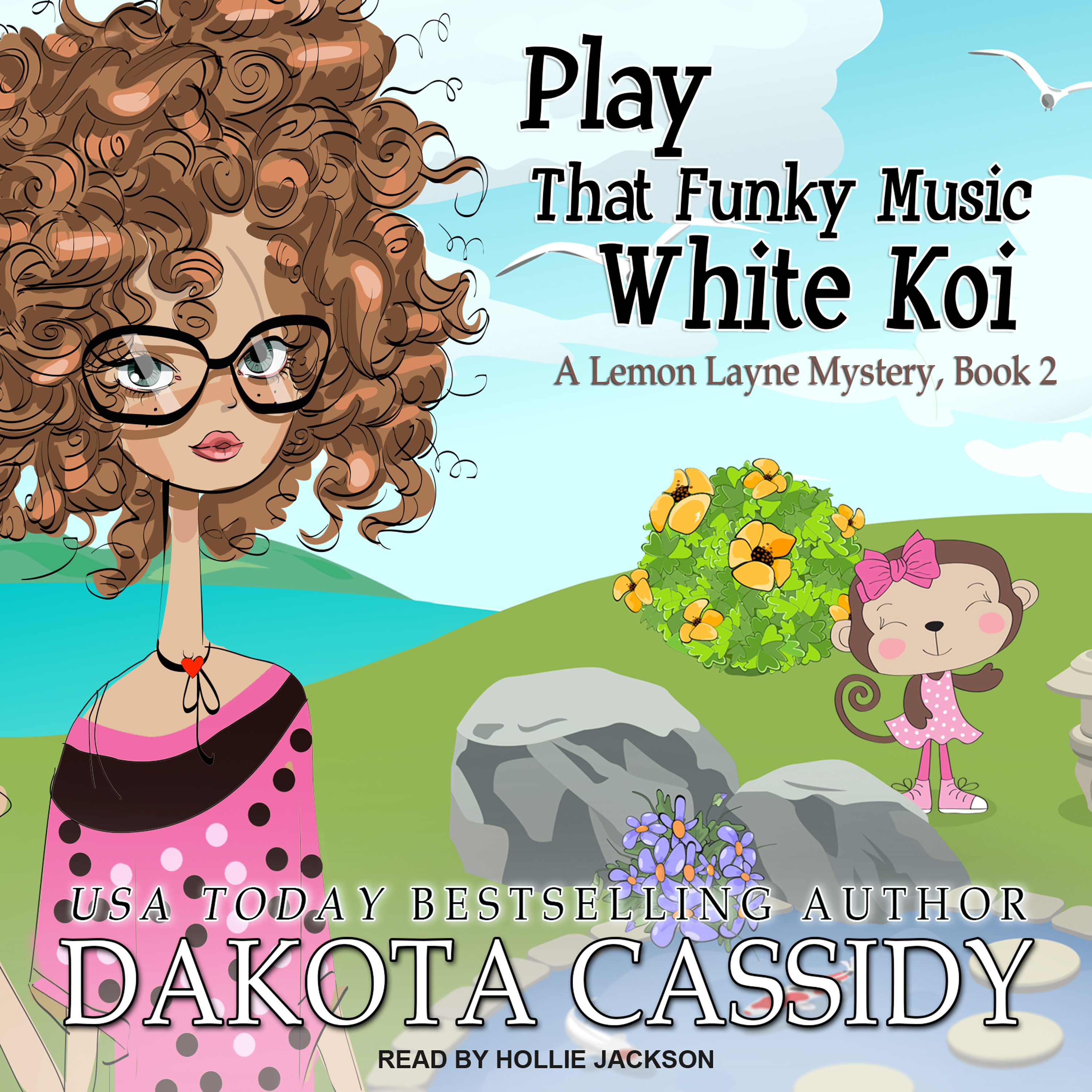 Printable Play That Funky Music White Koi Audiobook Cover Art