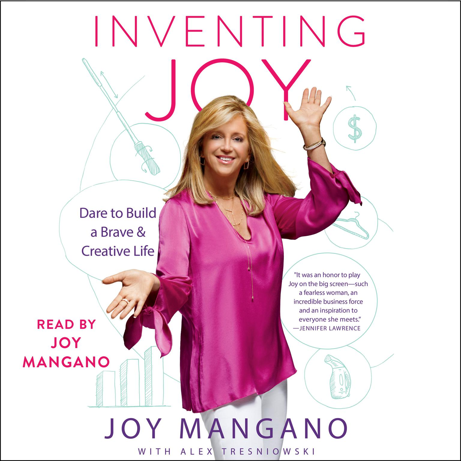 Printable Inventing Joy: Dare to Build a Brave & Creative Life Audiobook Cover Art